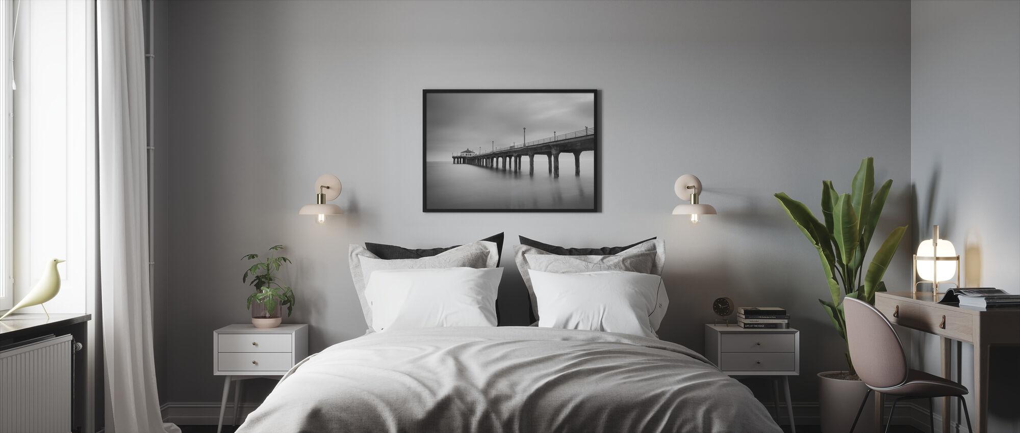 Manhattan Pier - Inramad tavla - Sovrum