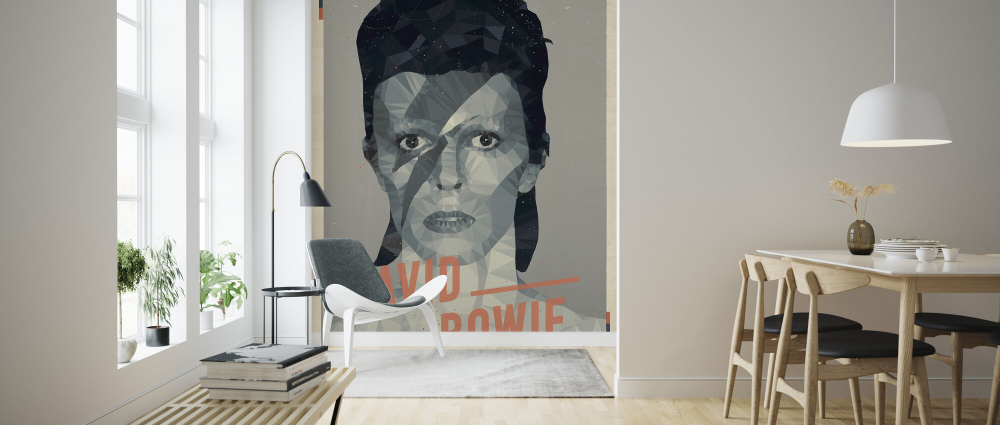 Major Tom - Wallpaper - Living Room