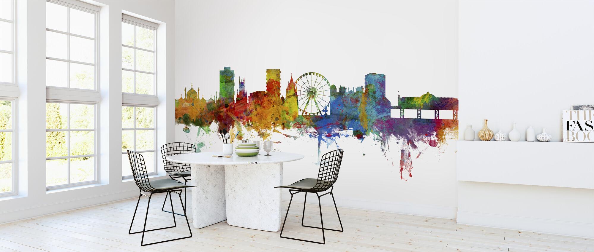 Brighton Skyline - Wallpaper - Kitchen