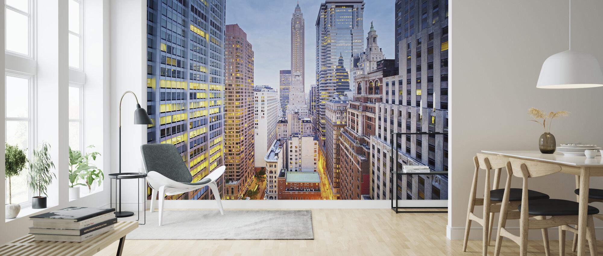New Yorkin seinien välissä - Tapetti - Olohuone