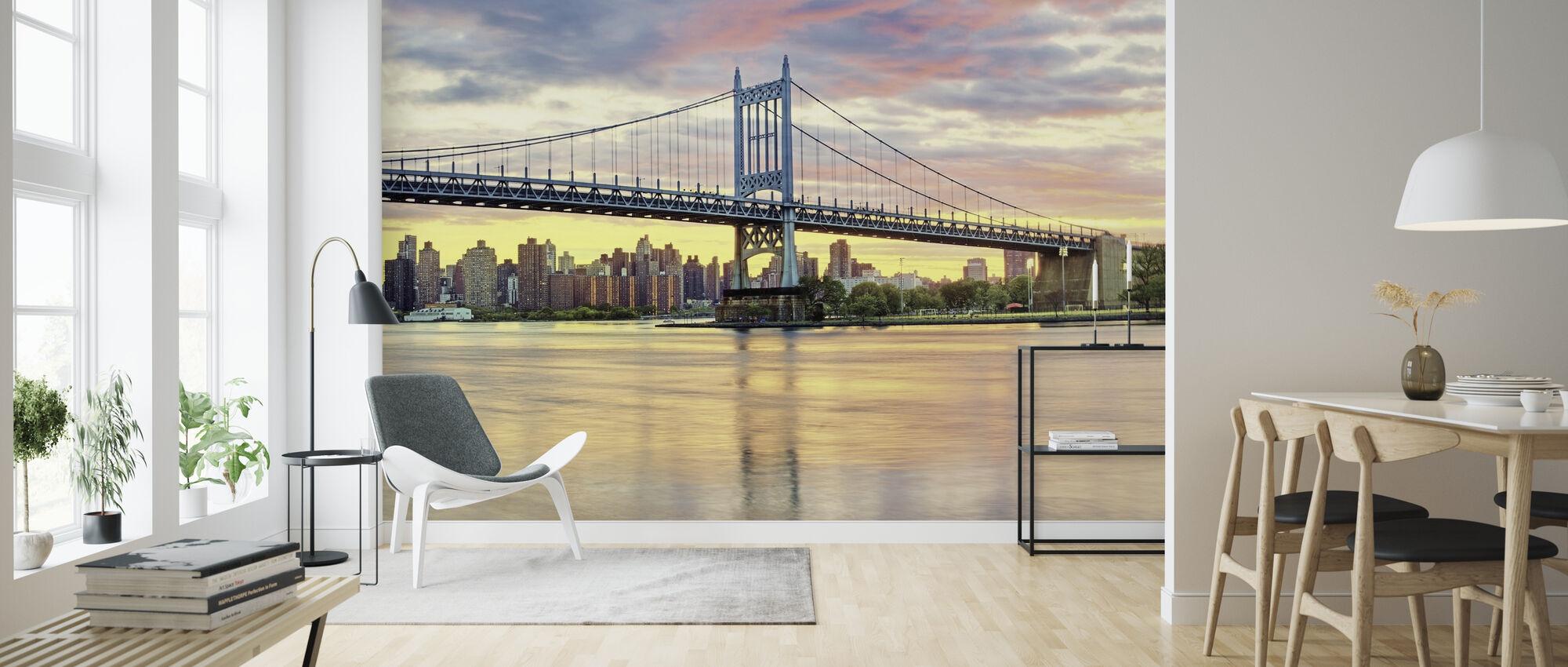 East River Sunset - Wallpaper - Living Room