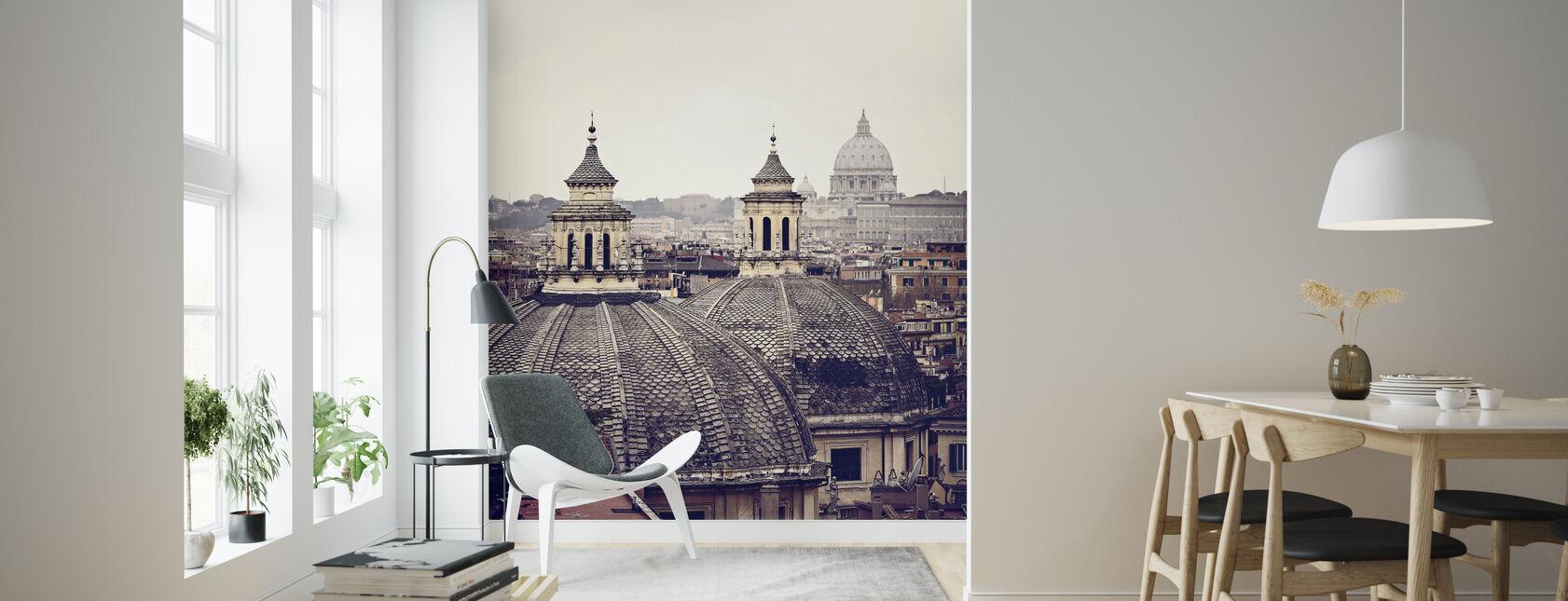 Rooman kupolit - Tapetti - Olohuone