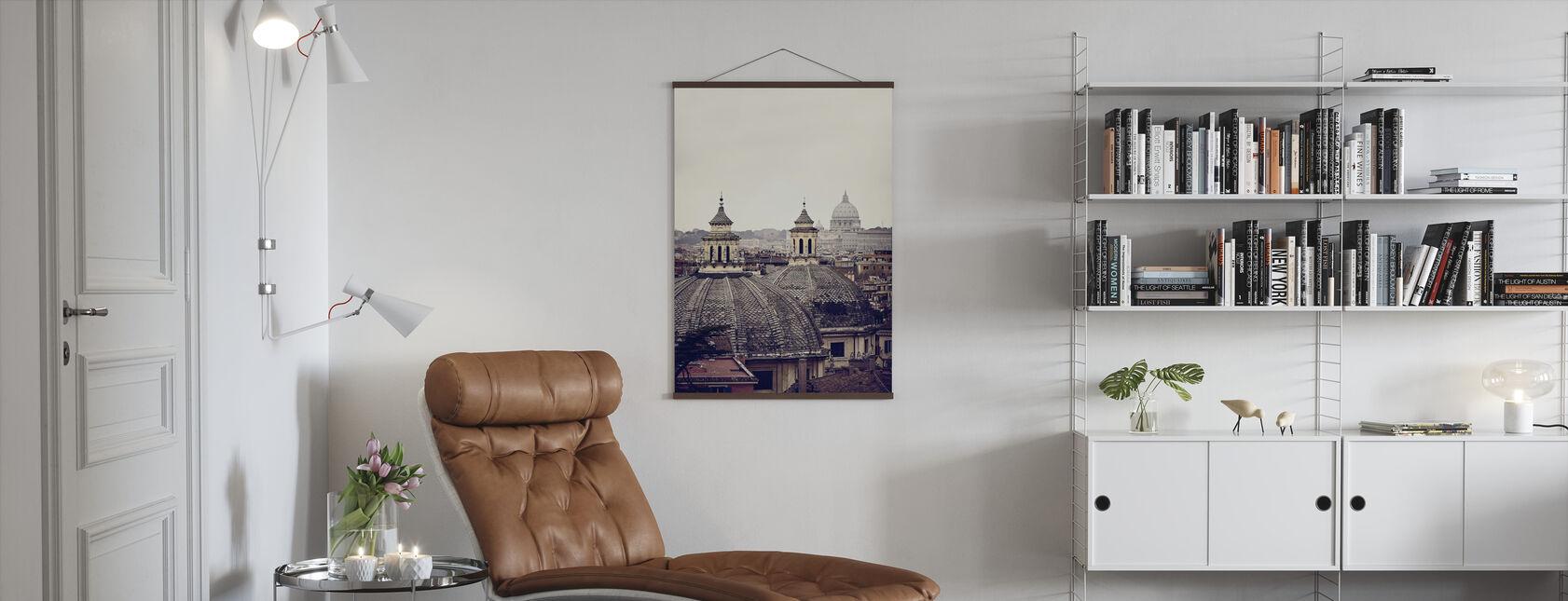 Rooman kupolit - Juliste - Olohuone