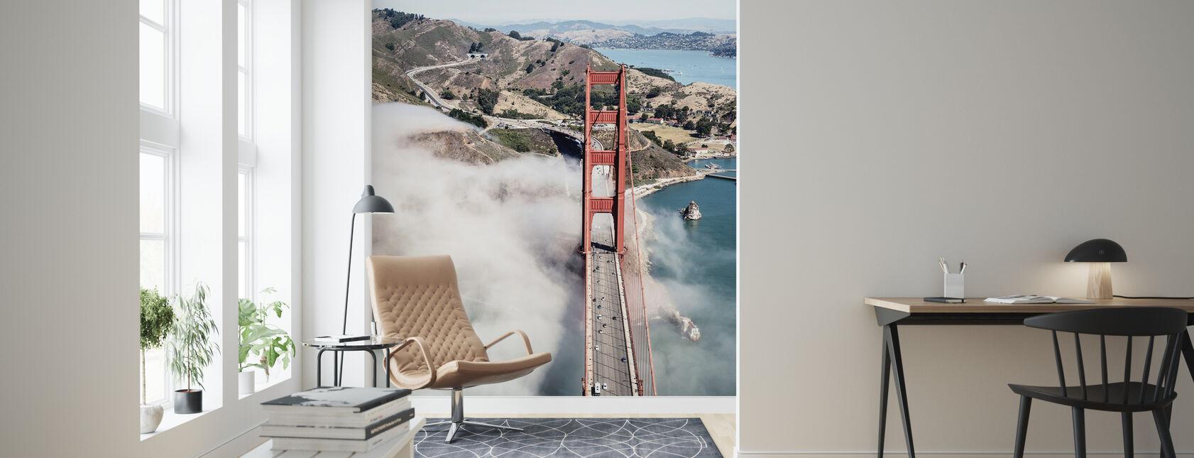 Golden Gate Bridge - Wallpaper - Living Room