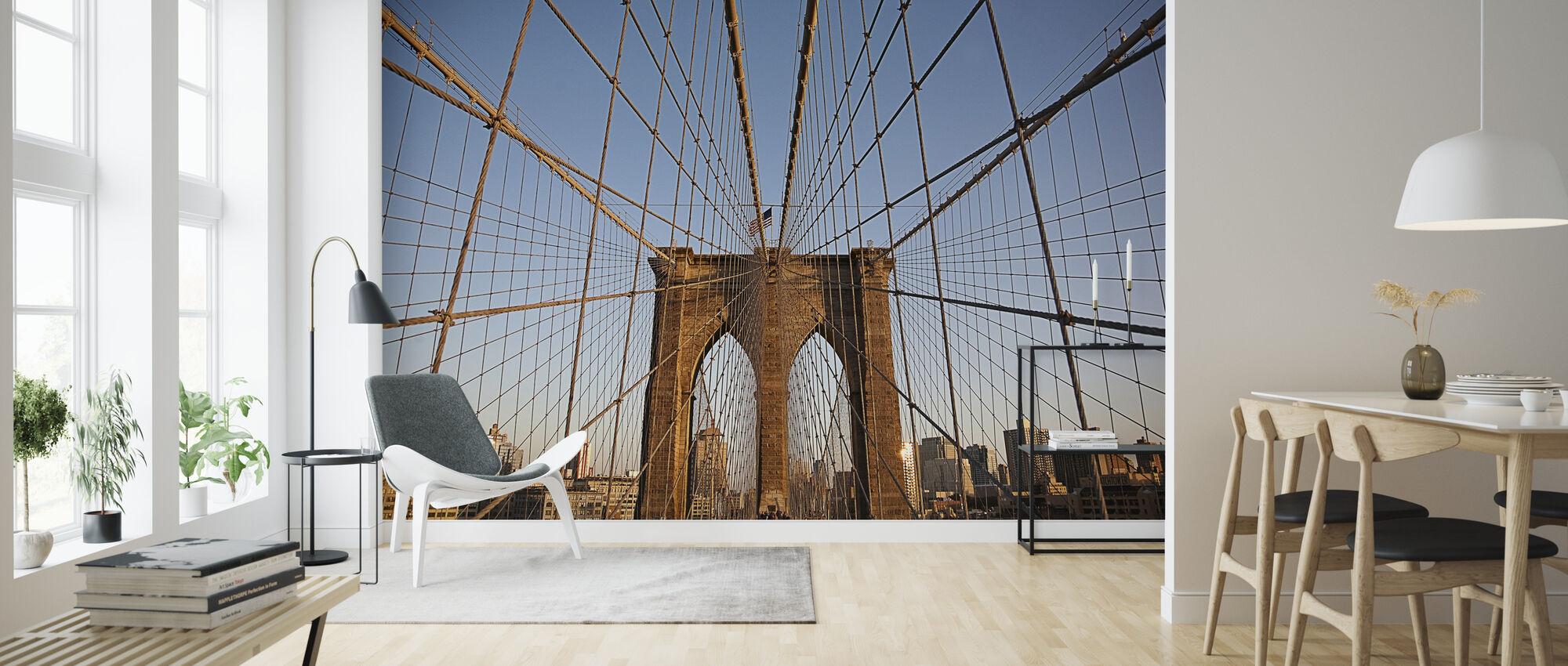 Suspension Ledninger på Urban Bridge - Tapet - Stue