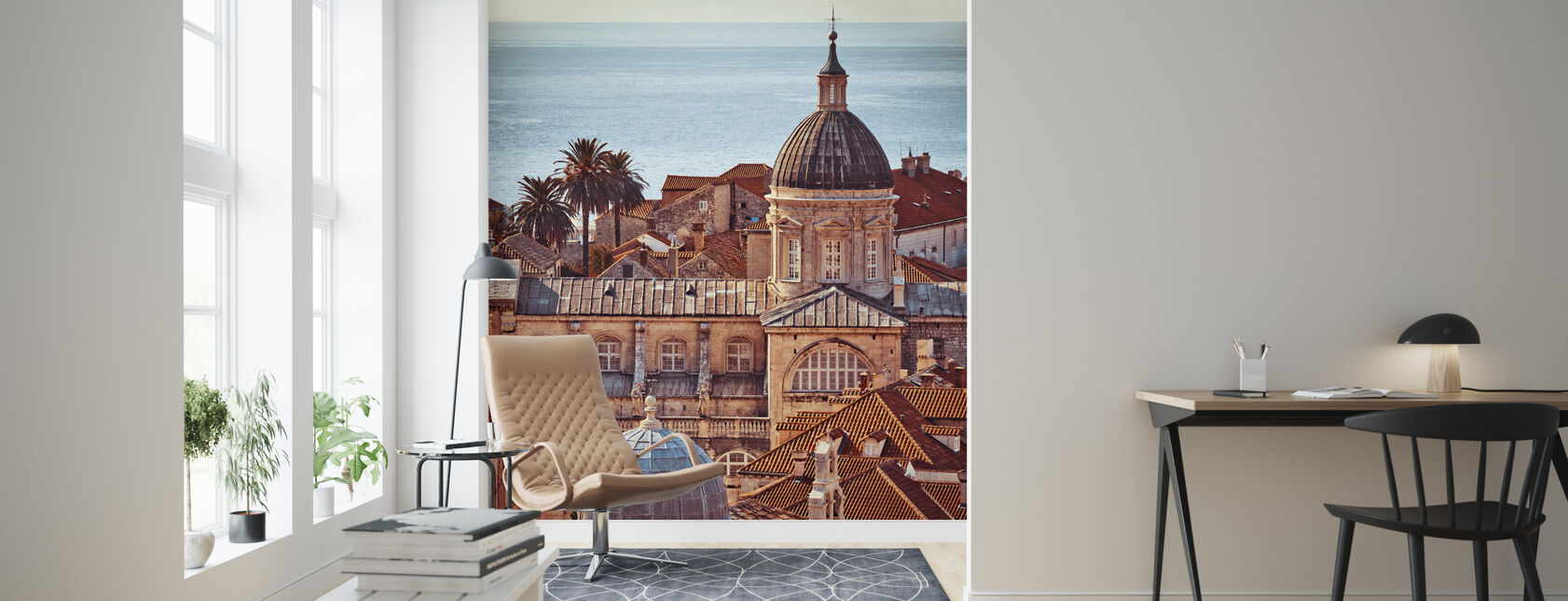 Dubrovnik - Wallpaper - Living Room