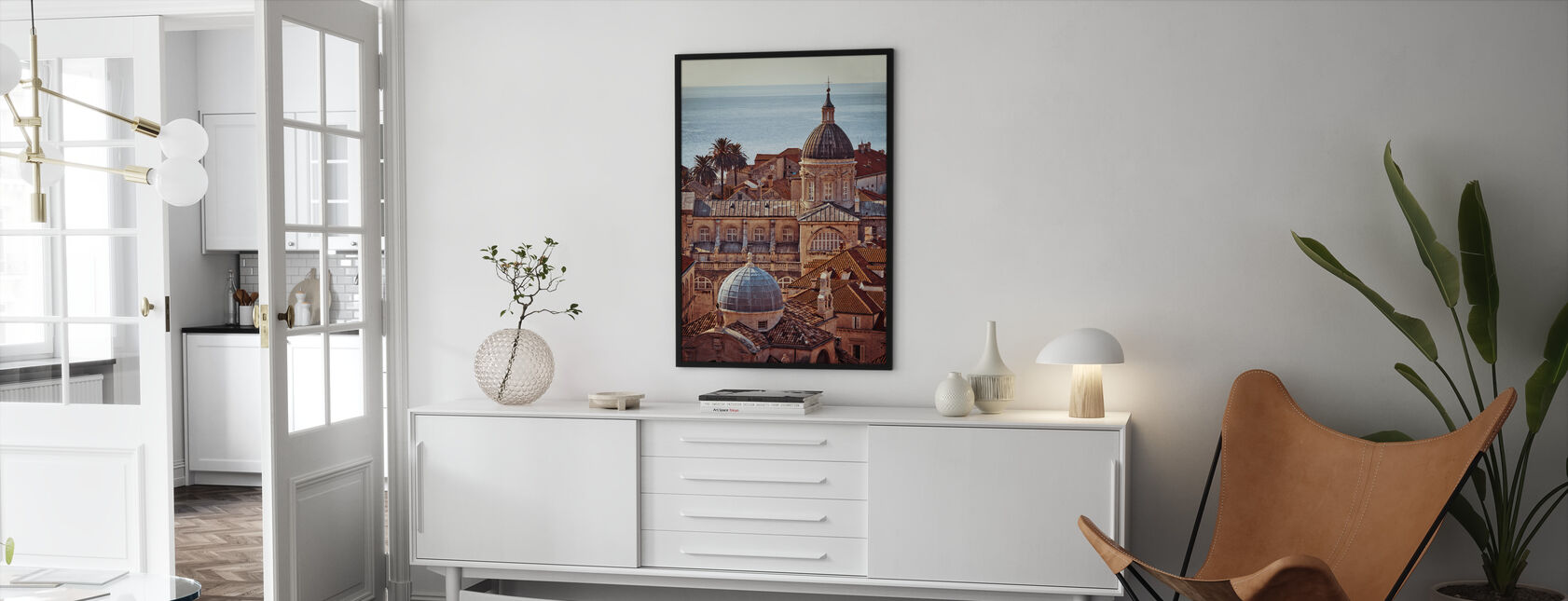 Dubrovnik - Framed print - Living Room