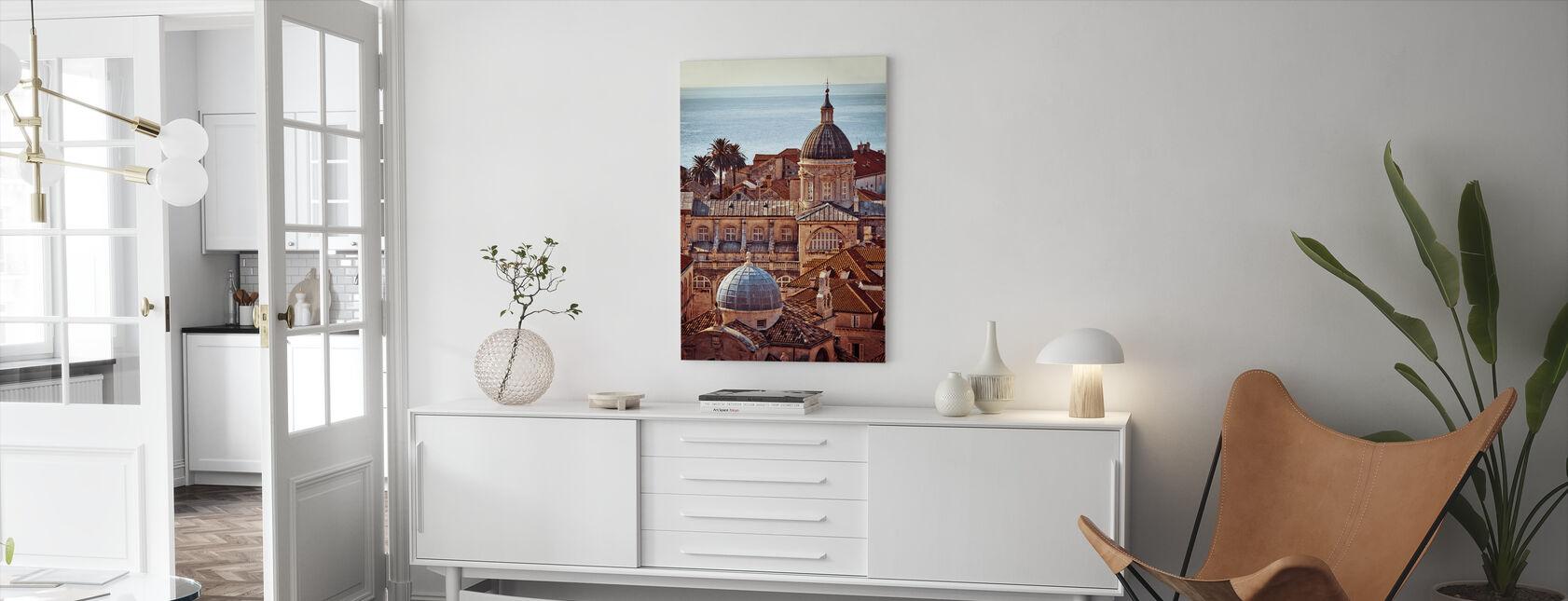 Dubrovnik - Canvas print - Living Room