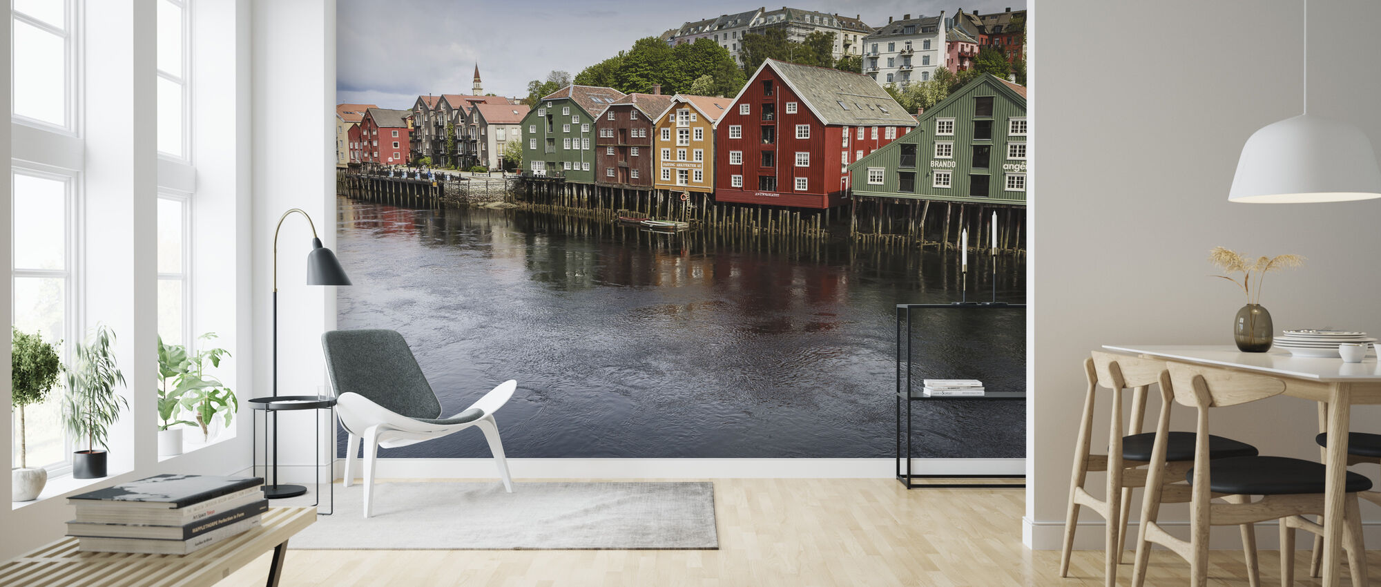 Trondheim - Wallpaper - Living Room