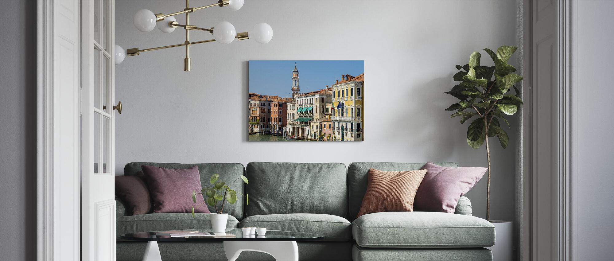 View from Rialto Bridge - Canvas print - Living Room