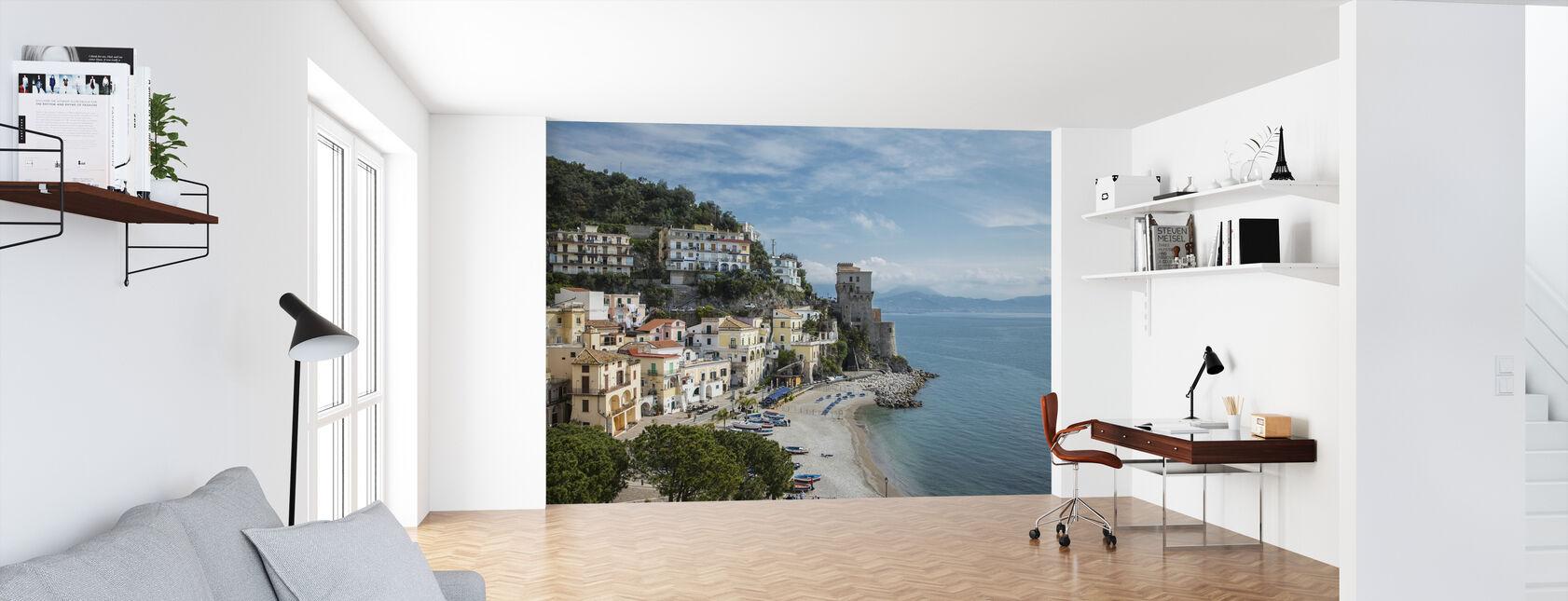 Amalfi-kust - Behang - Kantoor