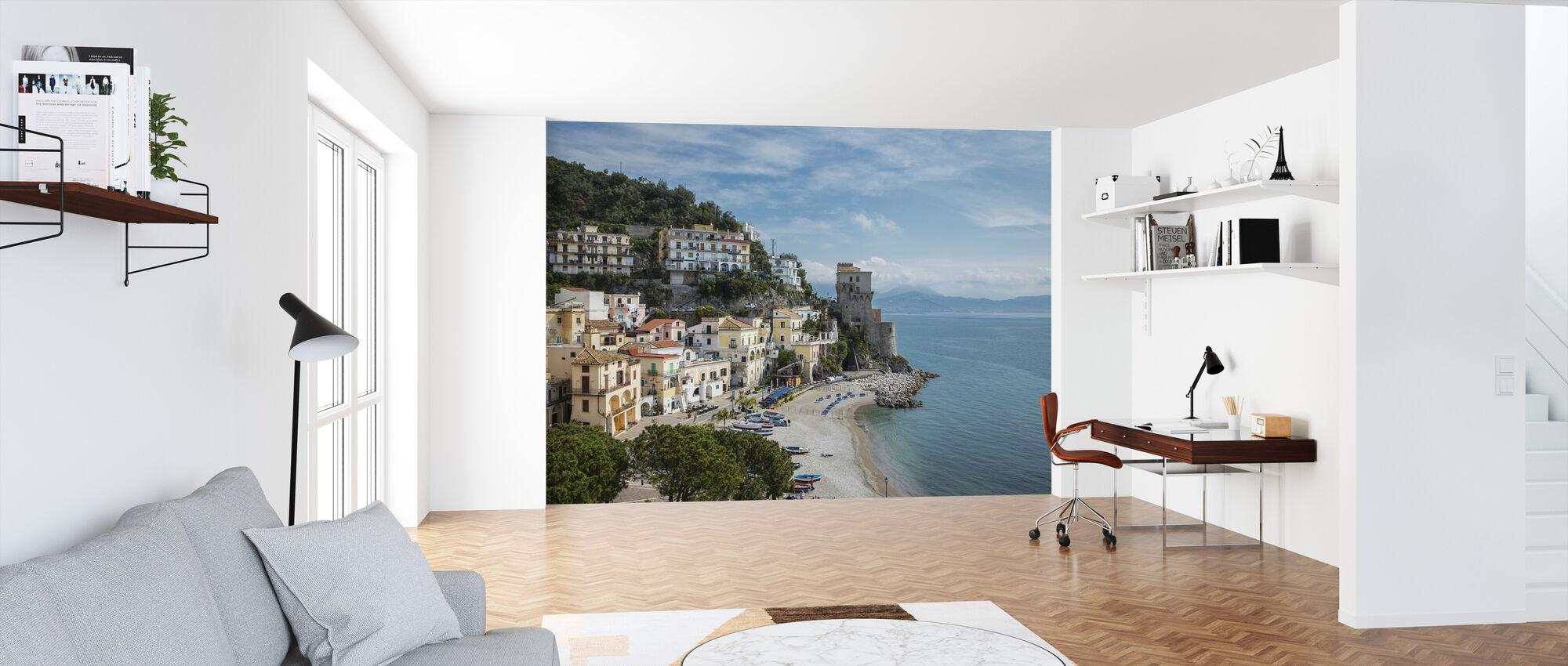 Amalfi Coast - Wallpaper - Office