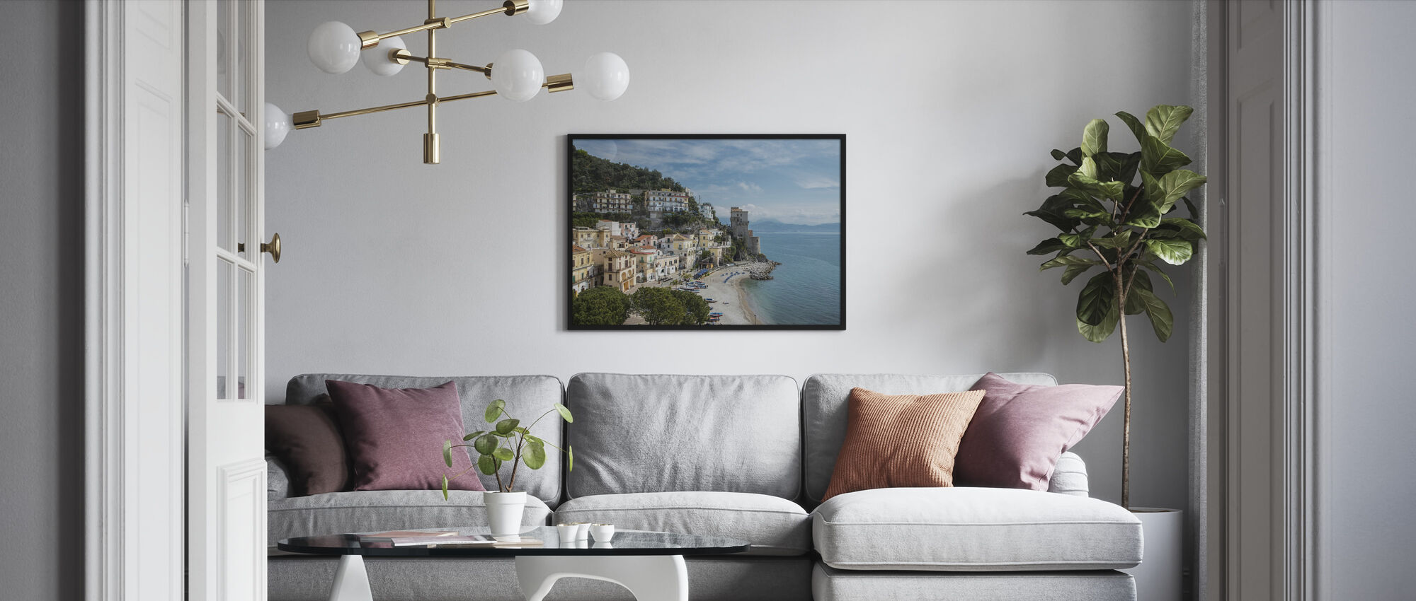 Amalfi Coast - Framed print - Living Room