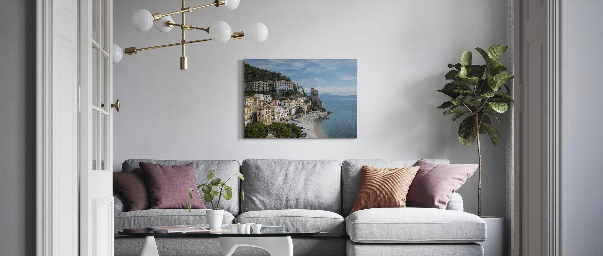 Amalfi-kust - Canvas print - Woonkamer