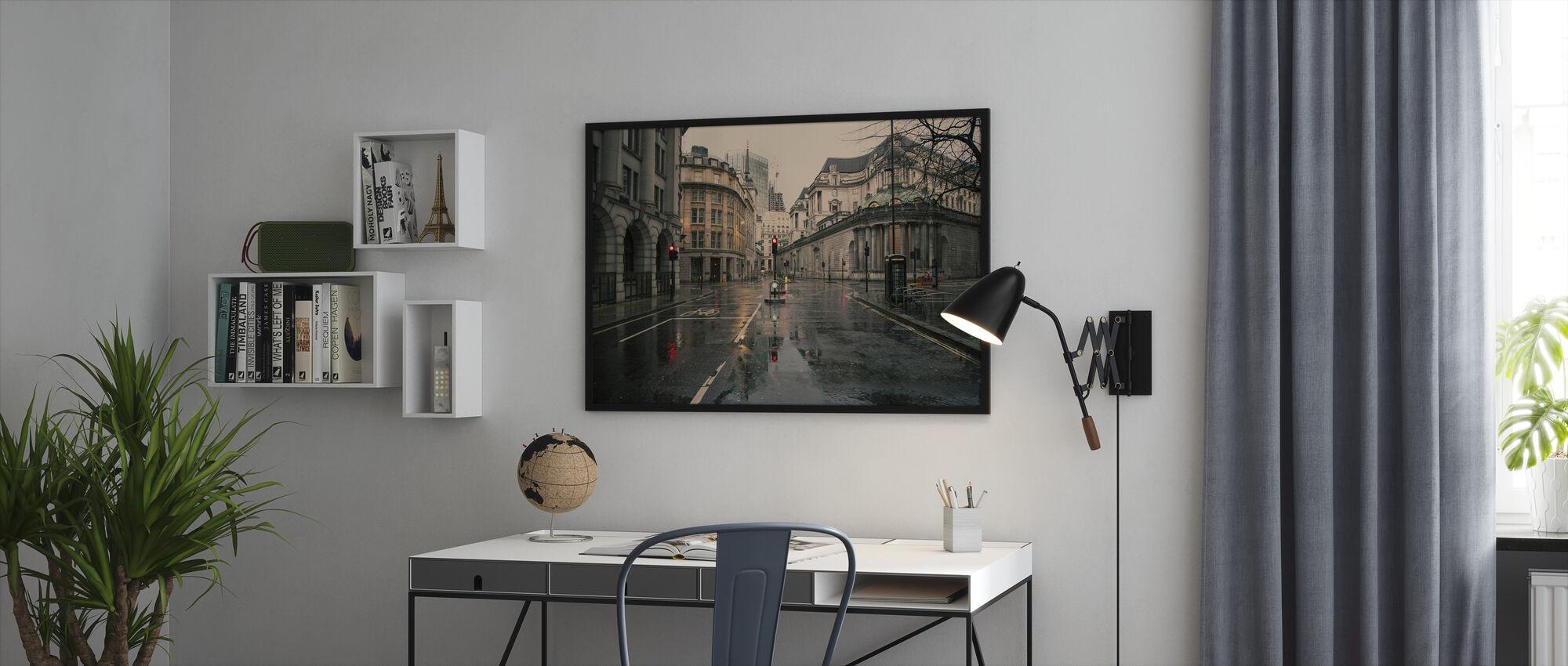 Skyfall - Innrammet bilde - Kontor