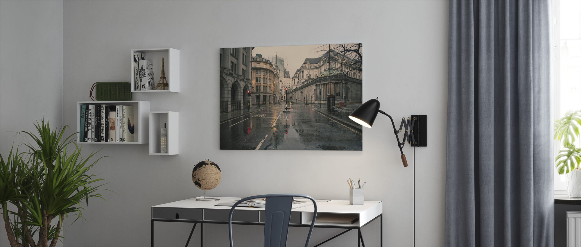 Skyfall - Canvas print - Office