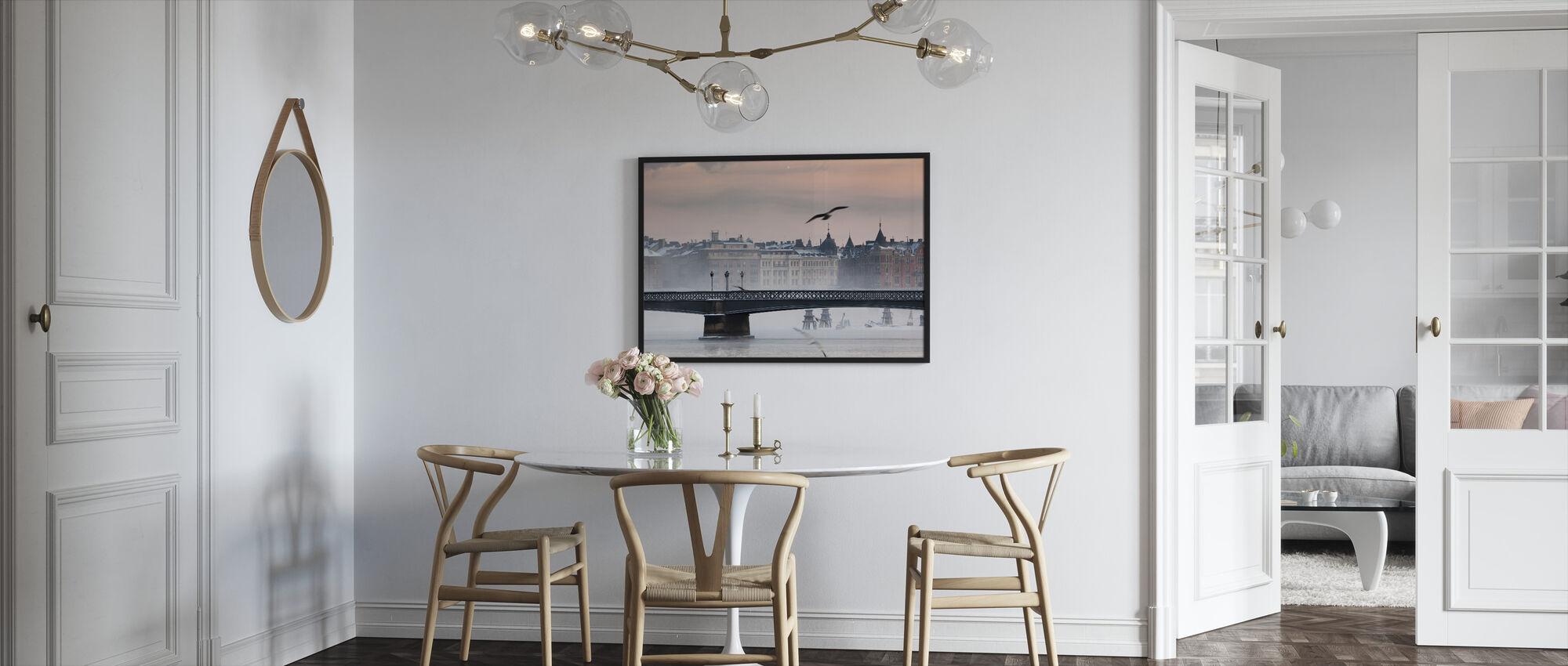 Skeppsholmen Bridge - Framed print - Kitchen