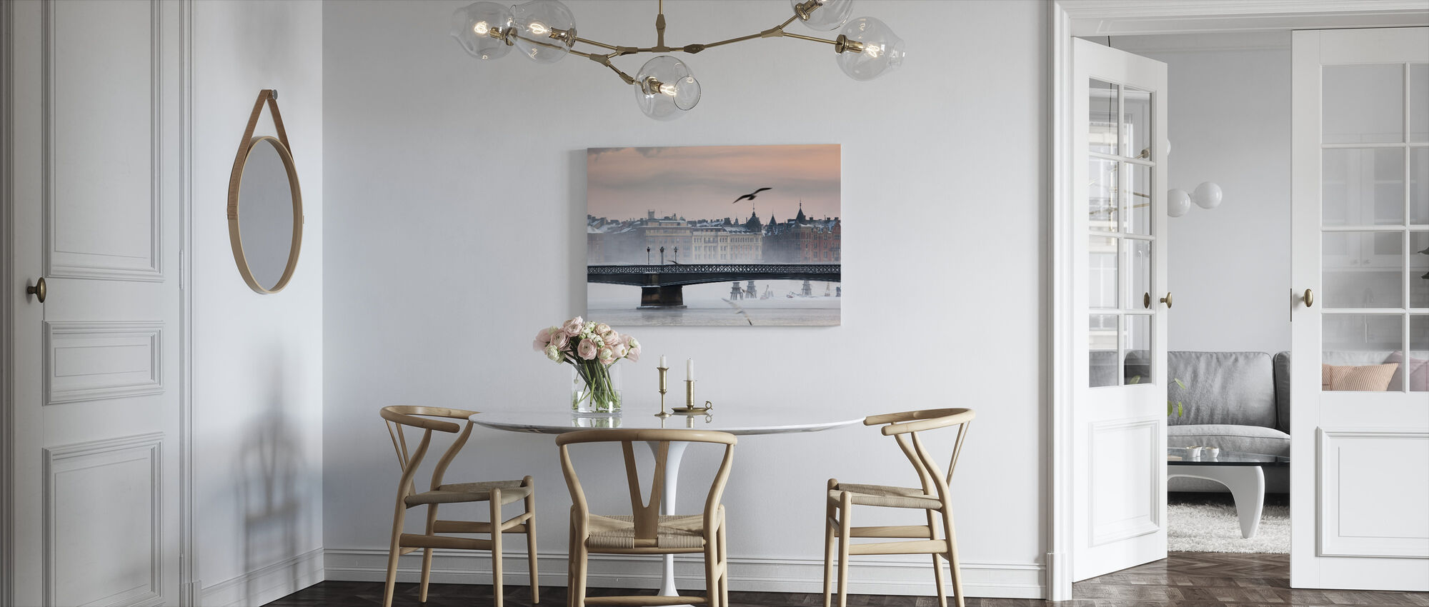 Skeppsholmen Bridge - Canvas print - Kitchen