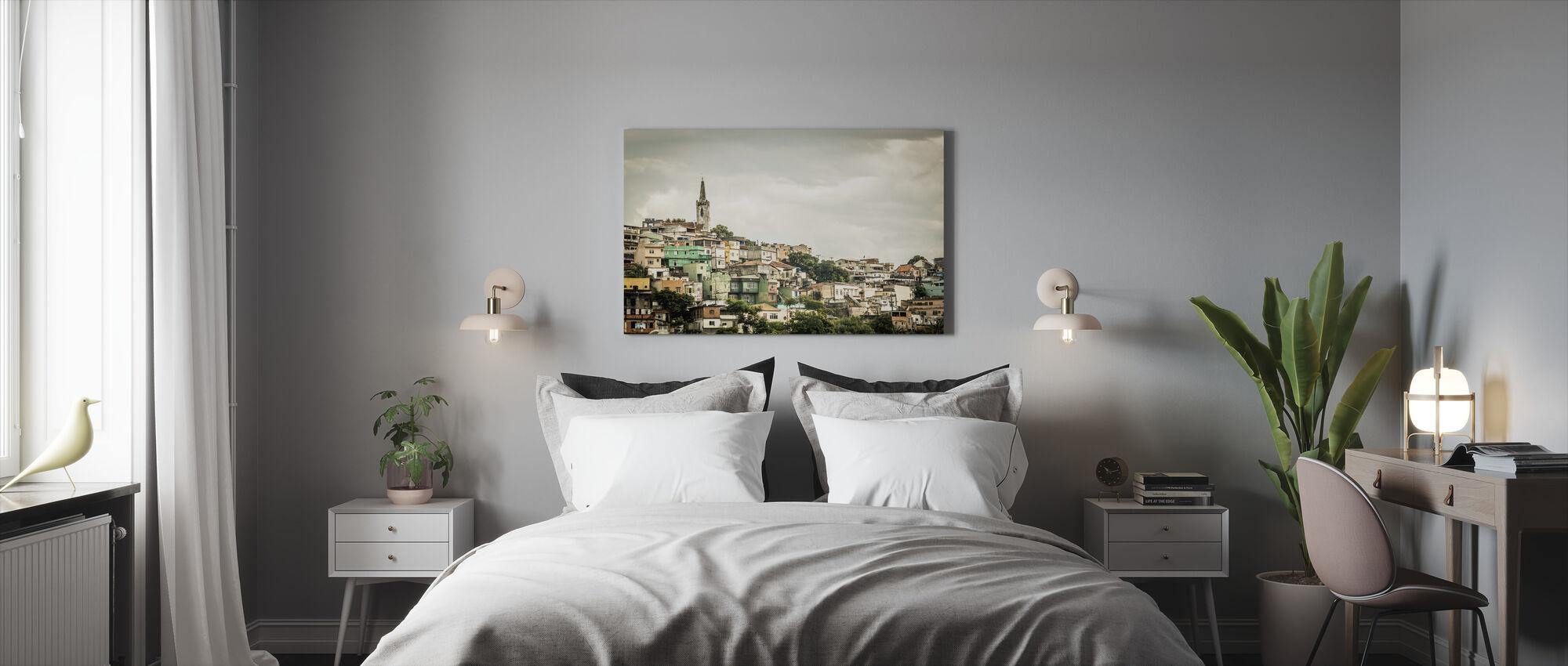 Hill River - Canvas print - Bedroom