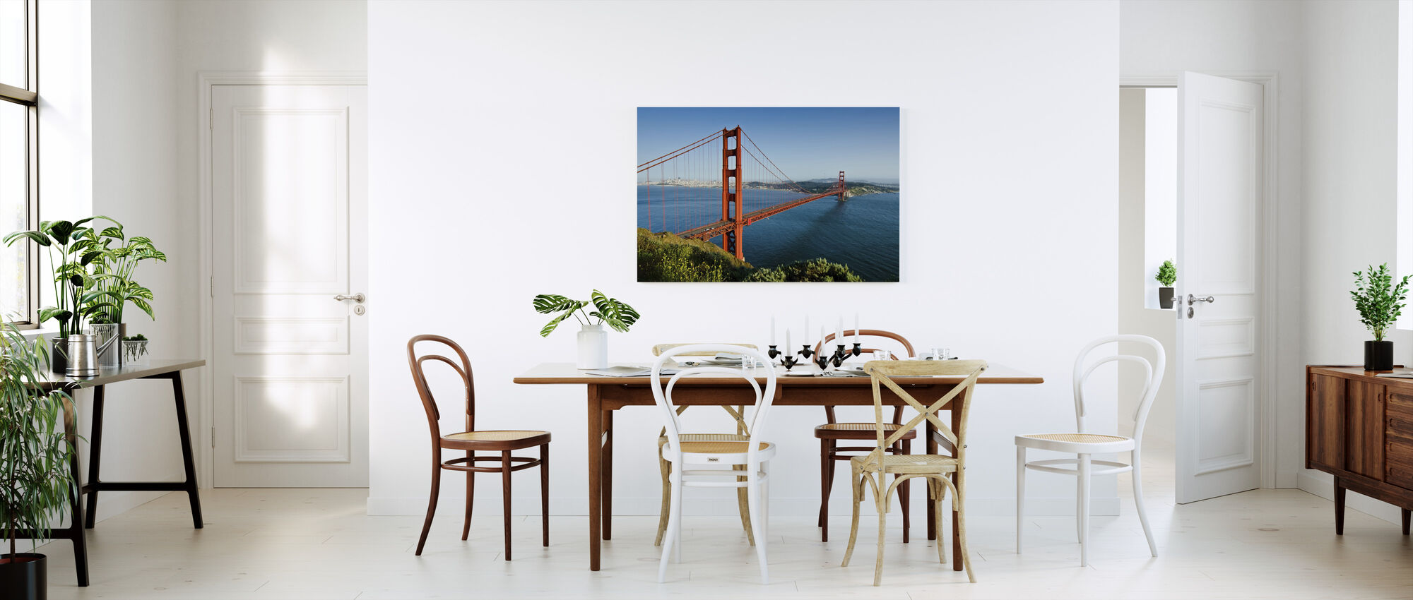Red, Blue and Green - Canvas print - Kitchen