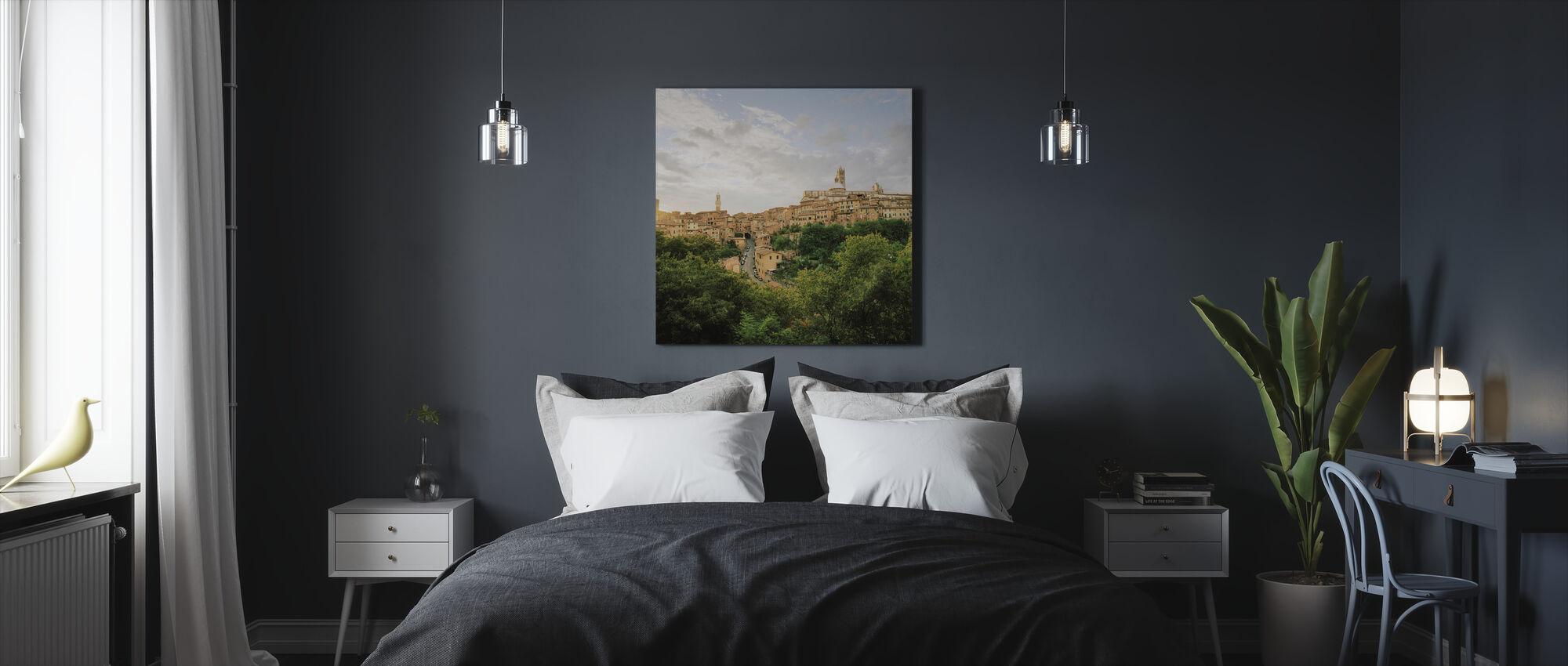 Siena. - Ja - Canvas print - Slaapkamer