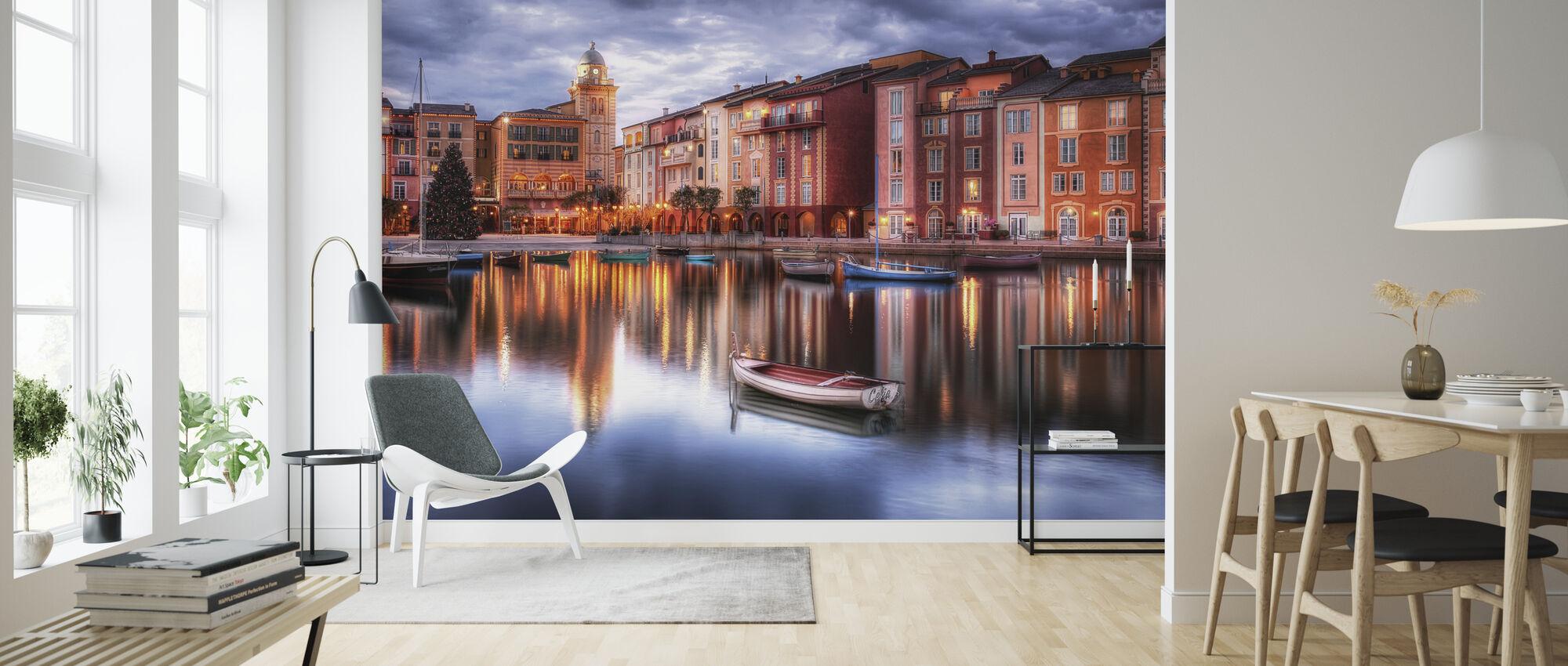 Portofino Bay Hotel in Orlando, Florida - Wallpaper - Living Room