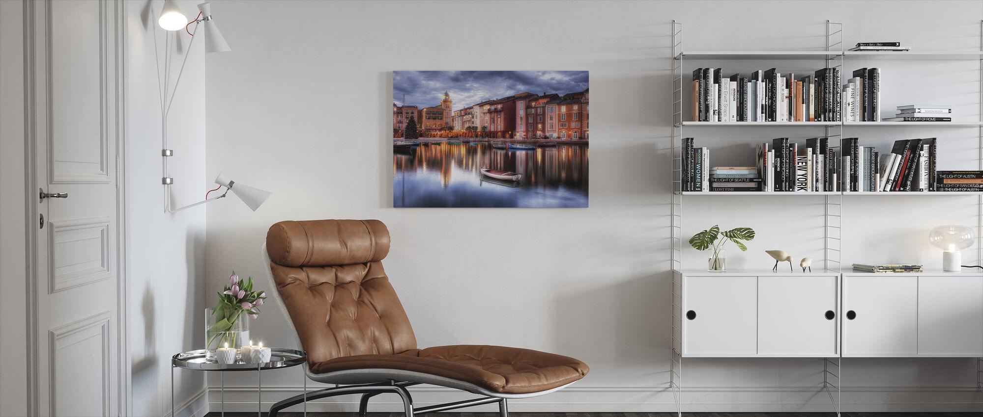 Portofino Bay Hotel in Orlando, Florida - Canvas print - Living Room