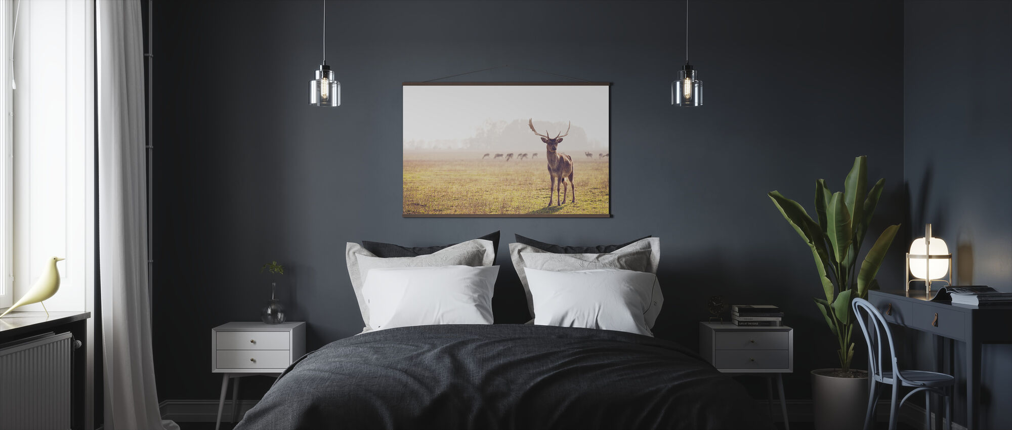 Fallow Deer - Poster - Bedroom