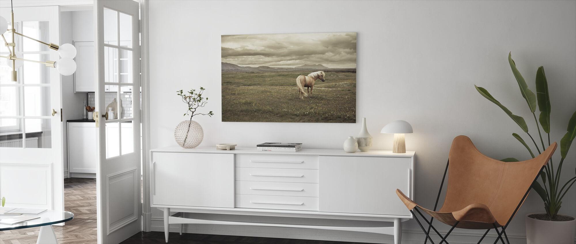 Icelandic Horse - Canvas print - Living Room