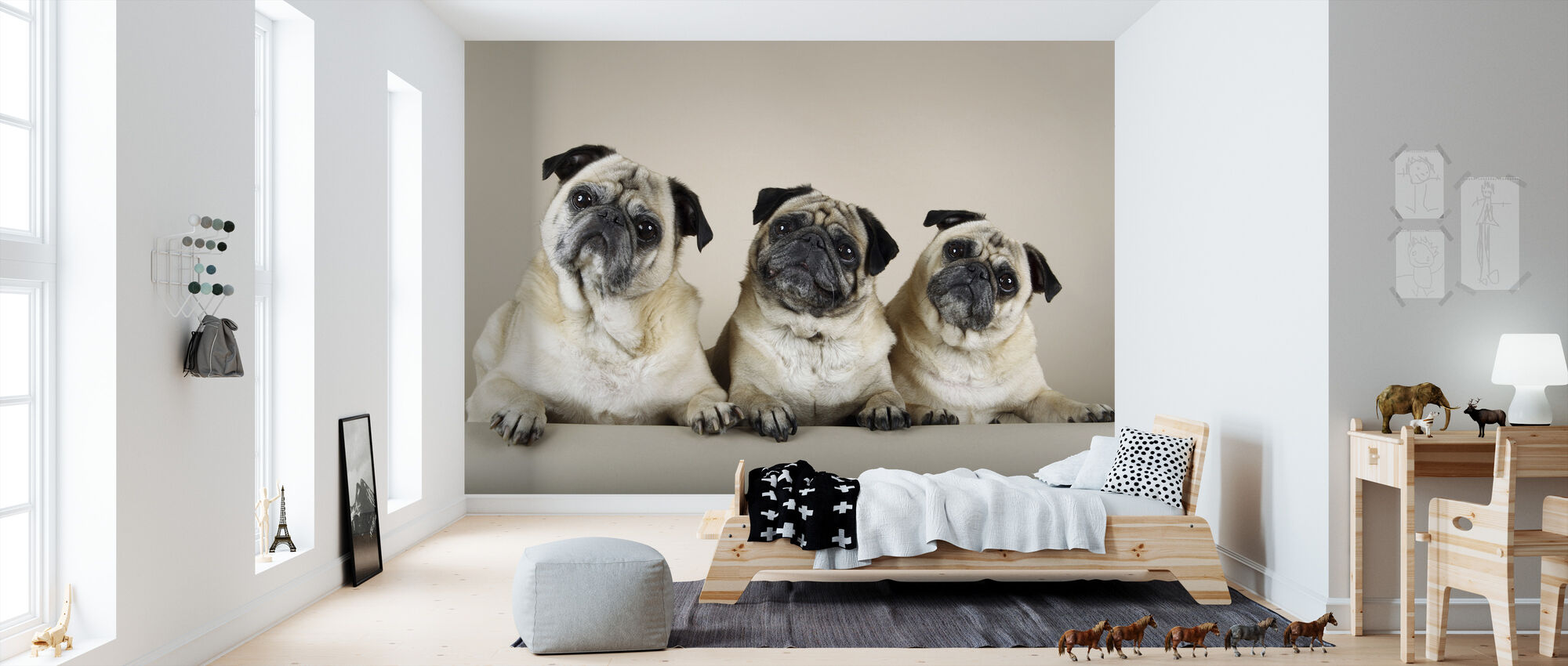 Trio - Wallpaper - Kids Room