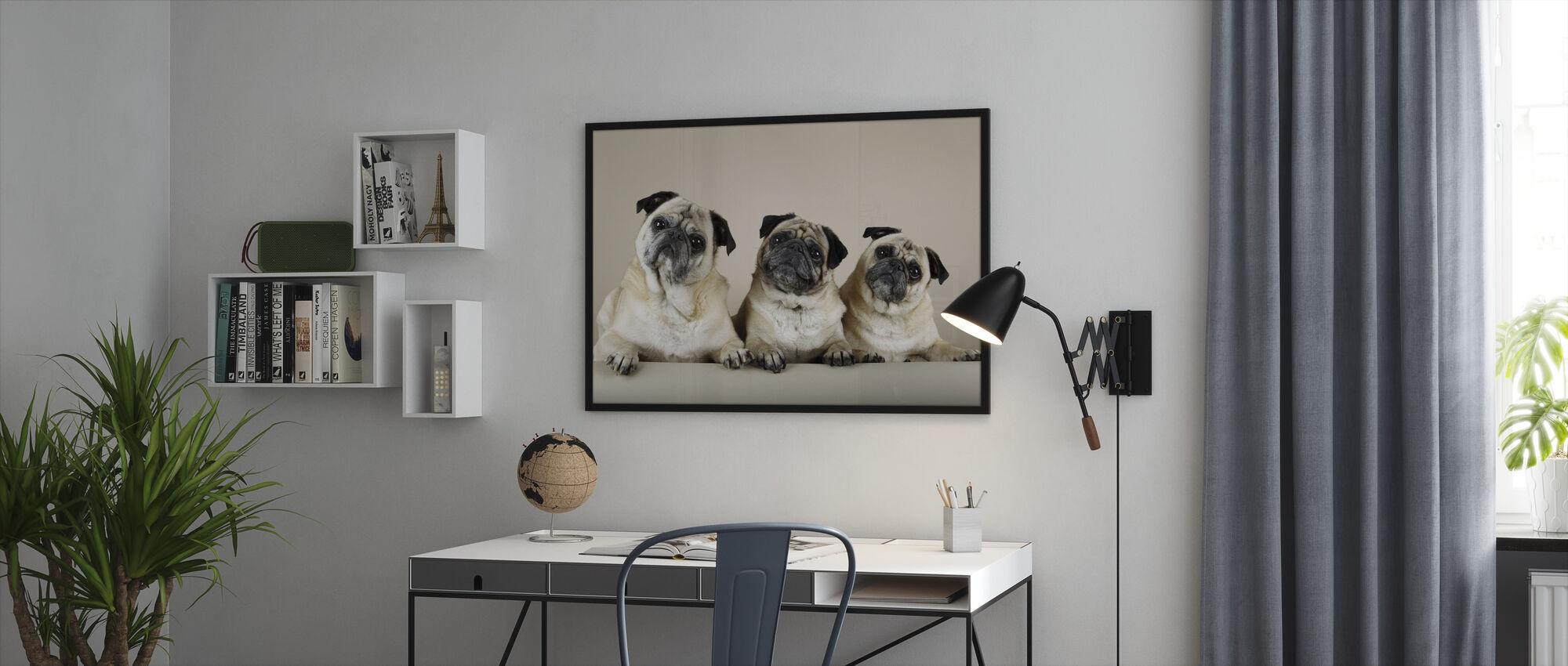 Trio - Framed print - Office