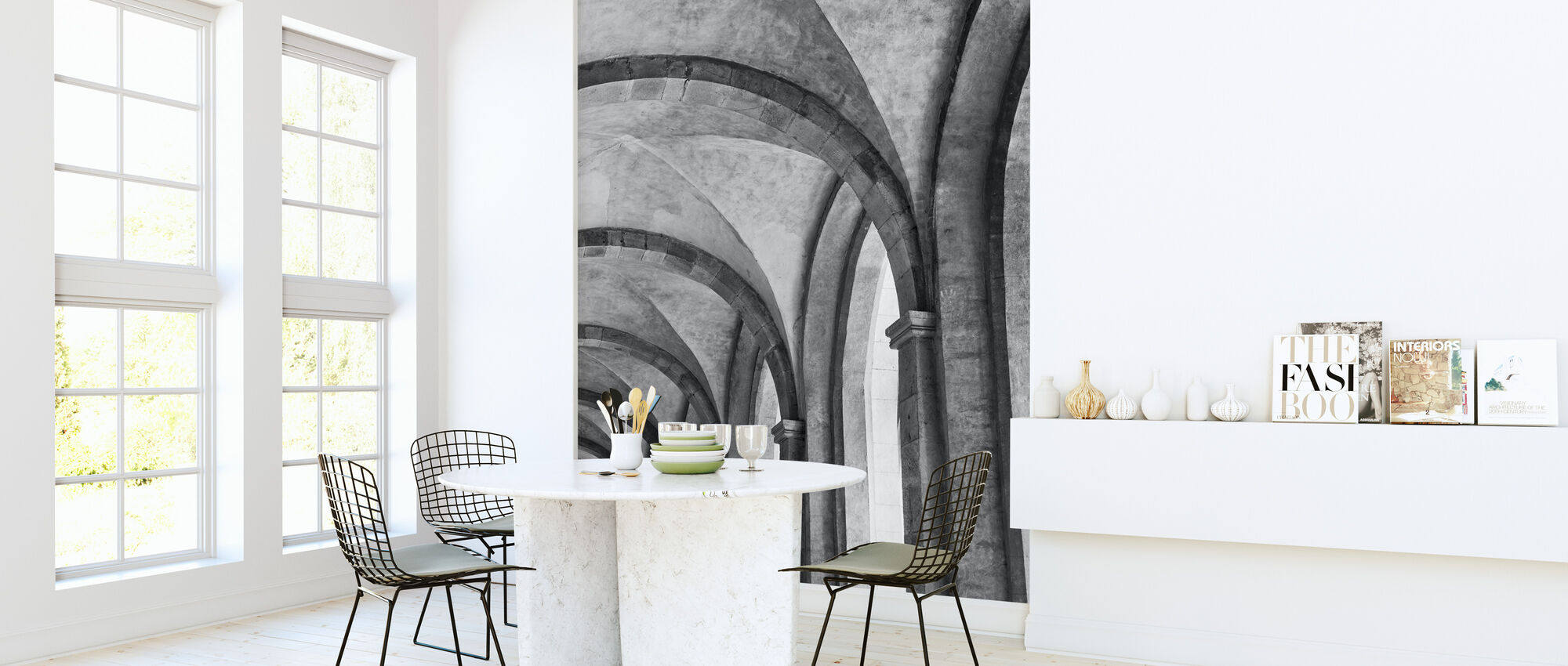 Cathedral Vault - Wallpaper - Kitchen
