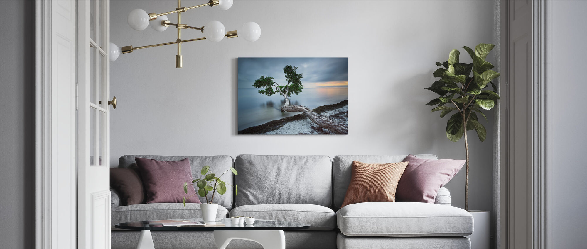 Reach Out - Canvas print - Living Room