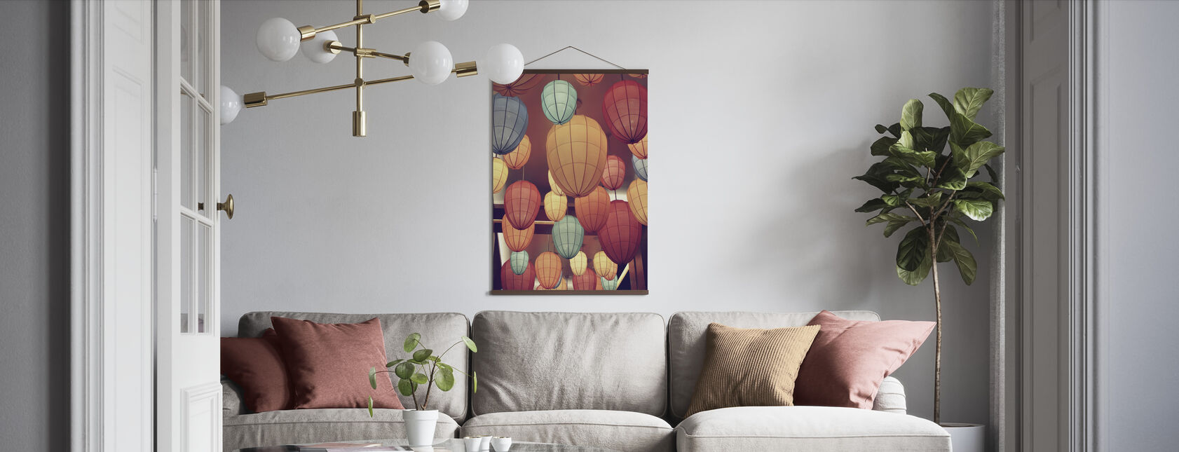 Lamps - Poster - Living Room