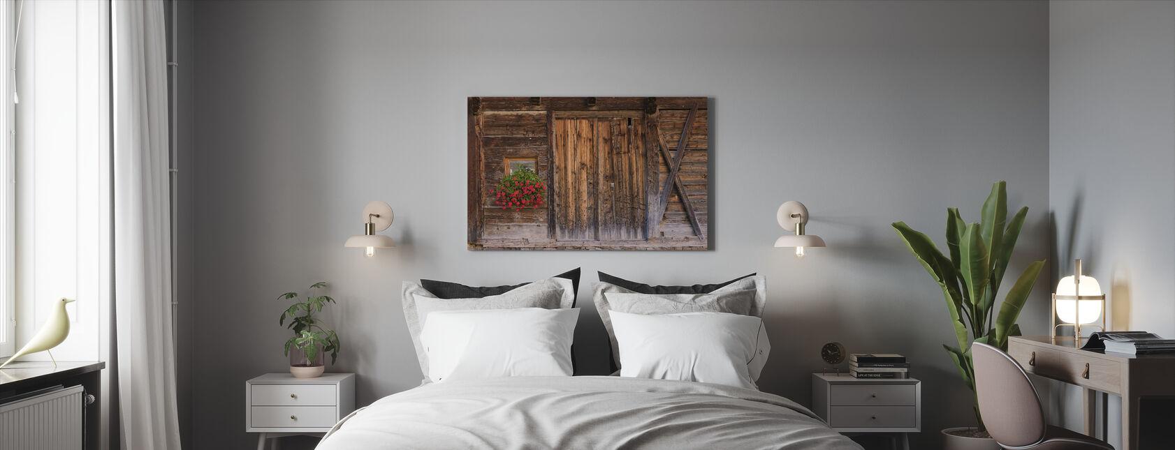 Rustic Charm - Canvas print - Bedroom