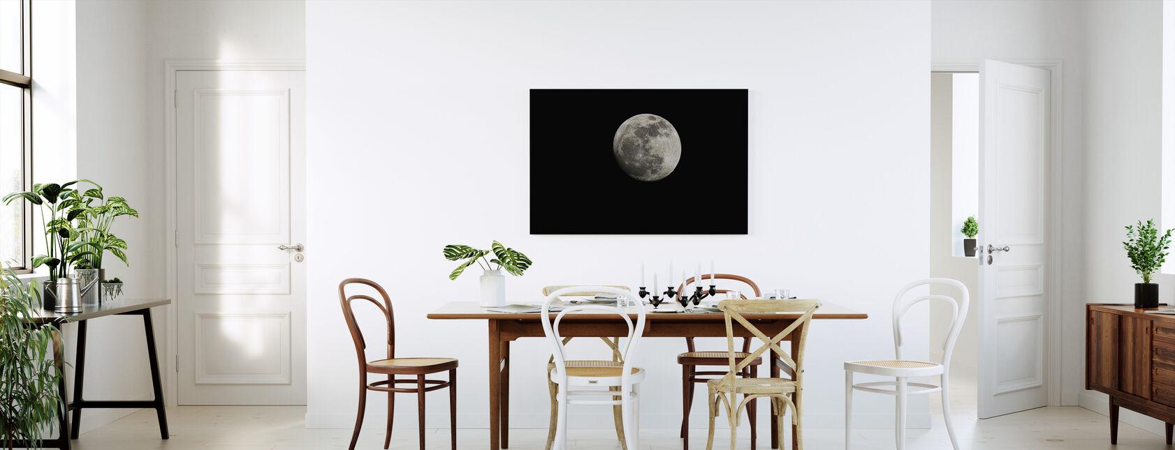 Moon - Canvas print - Kitchen