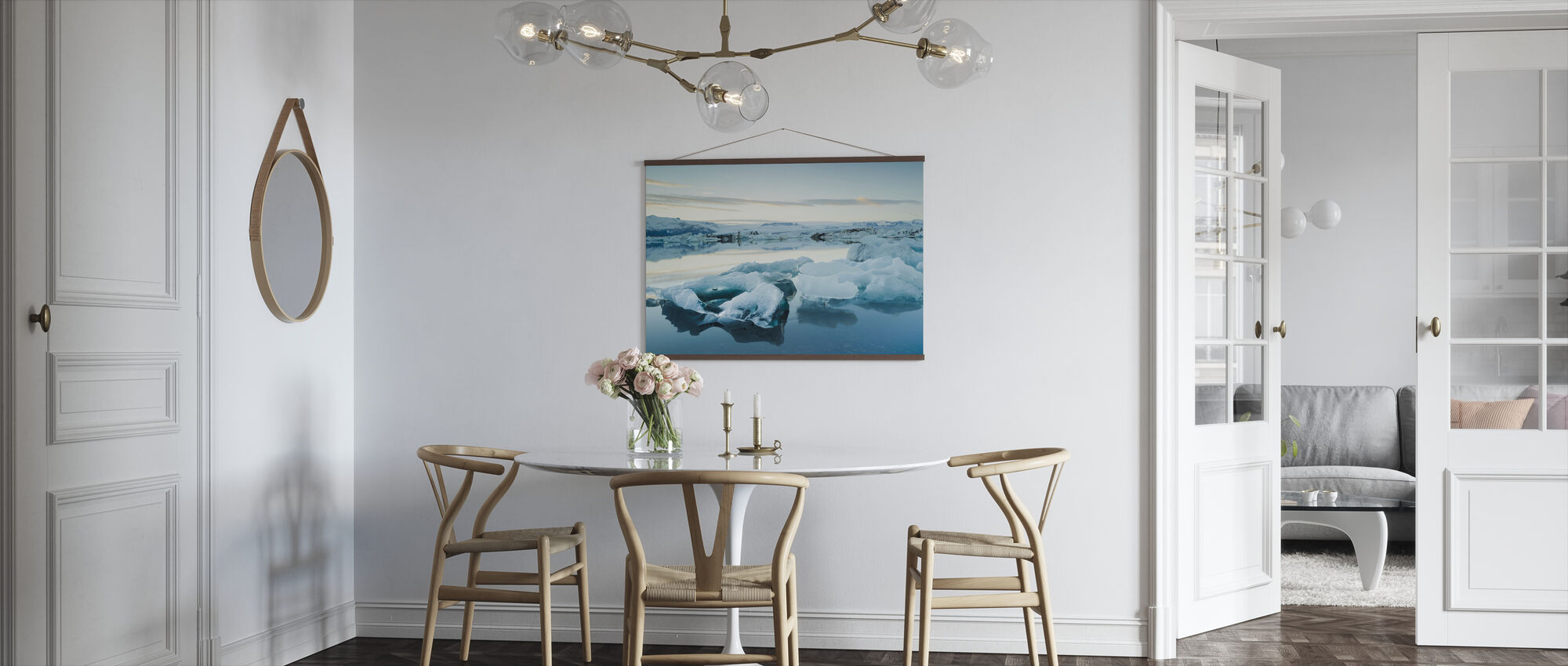 Skulpturell is - Plakat - Kjøkken