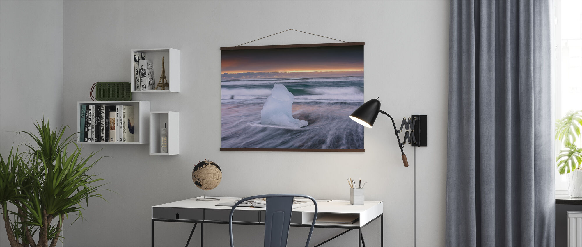 Surfing Ice - Poster - Office