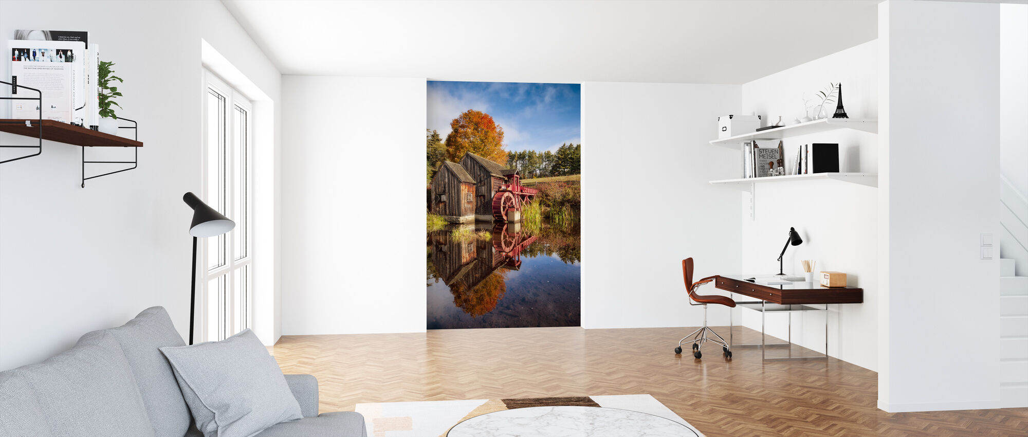 The Old Grist Mill - Wallpaper - Office