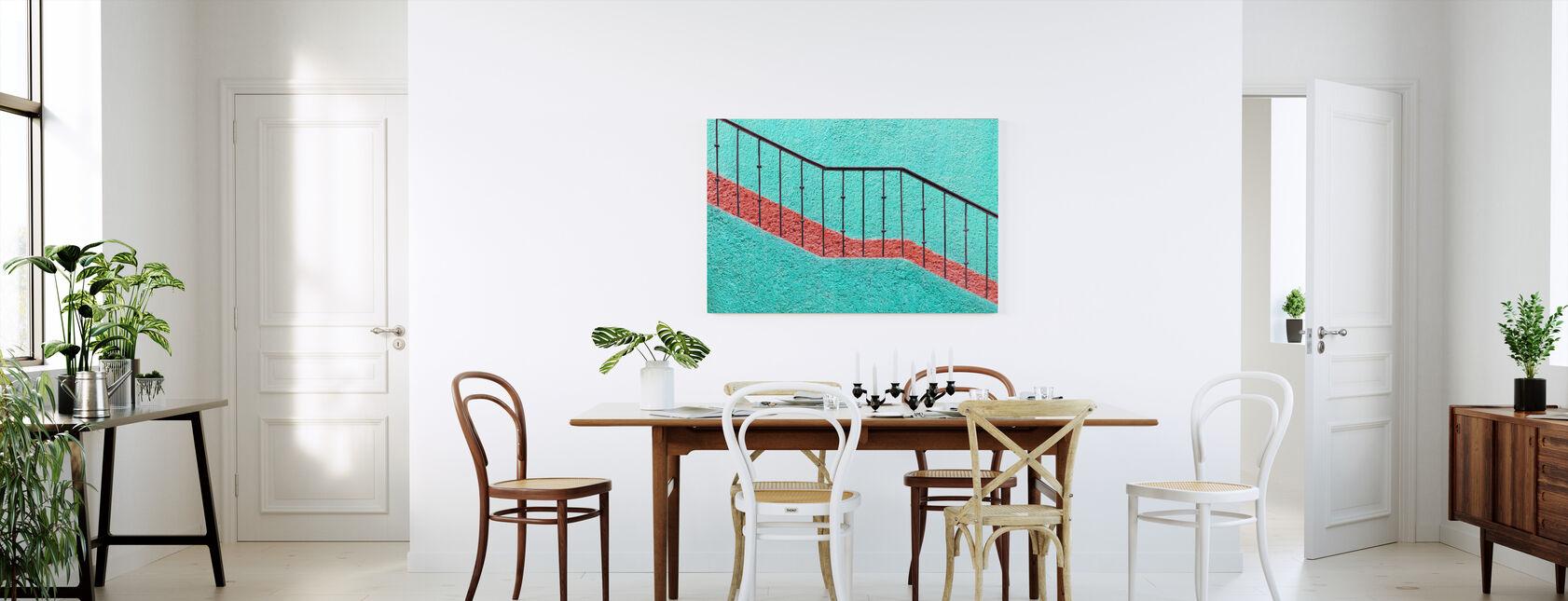 Stairs - Canvas print - Kitchen
