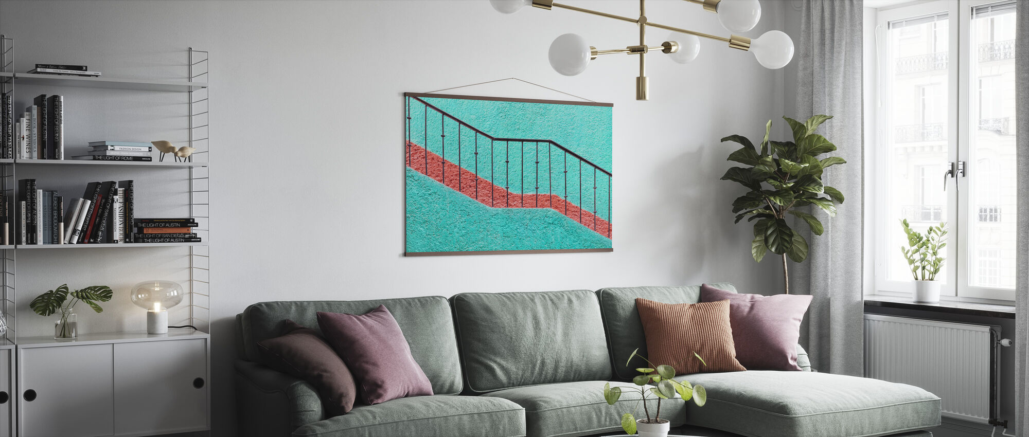 Trappen - Poster - Woonkamer