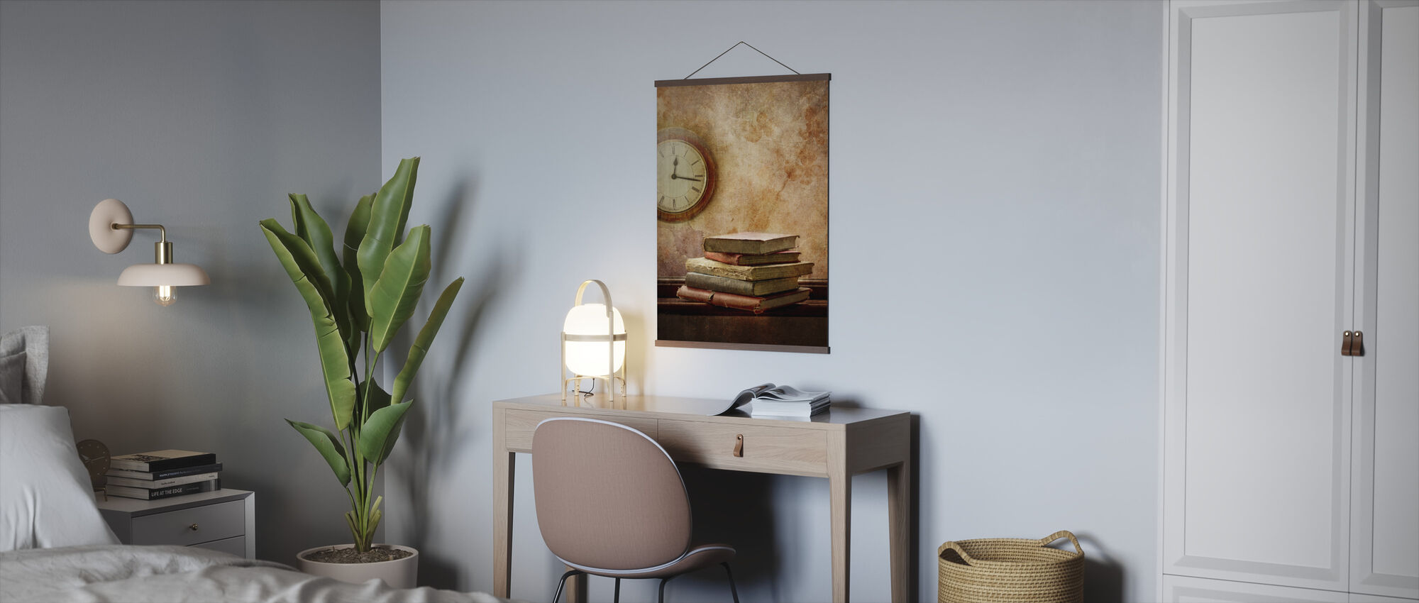 Times and Books - Poster - Office