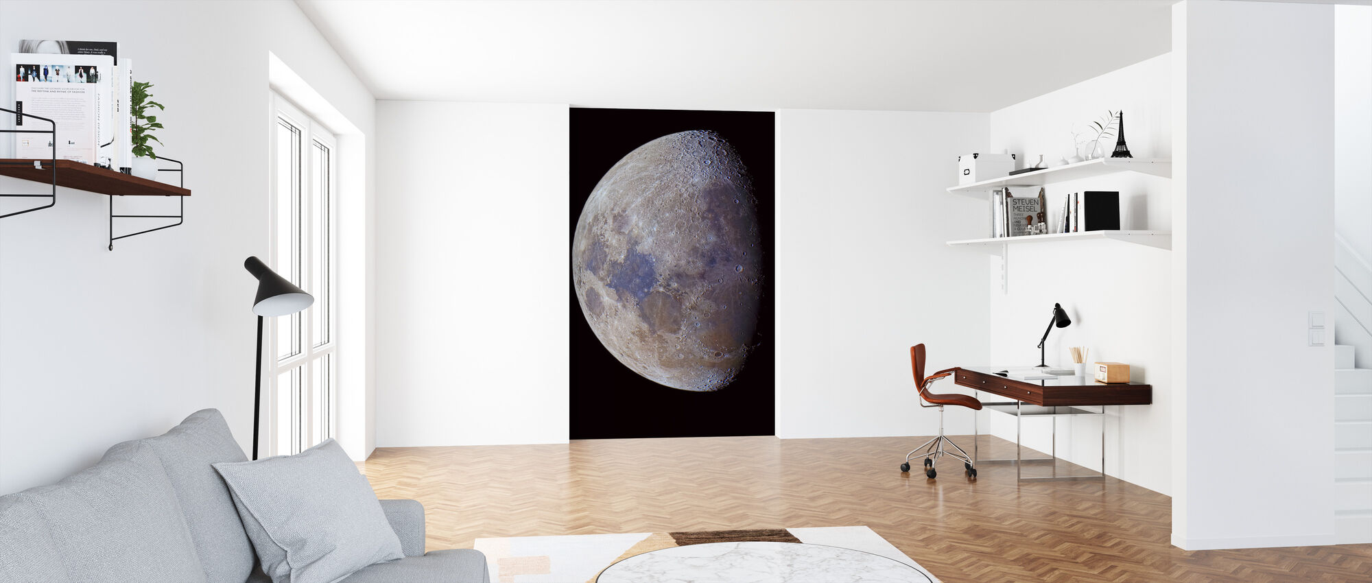 Lunar värit - Tapetti - Toimisto
