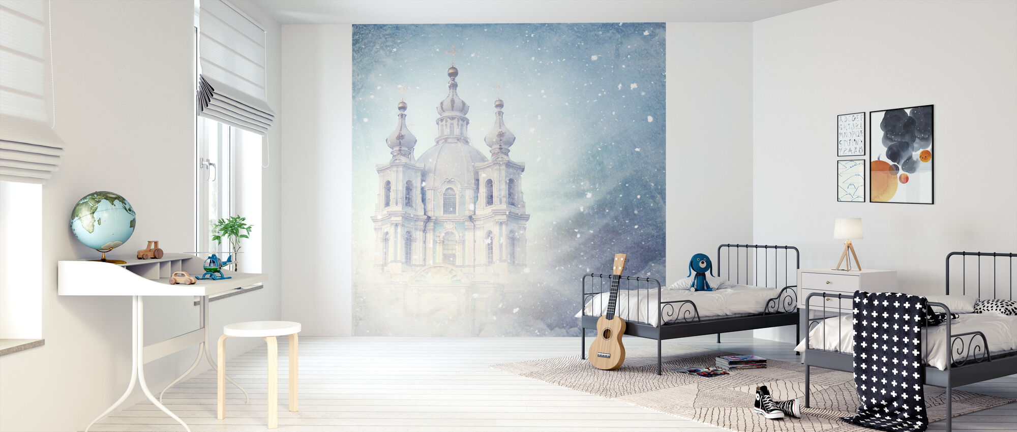 Dream Castle - Wallpaper - Kids Room