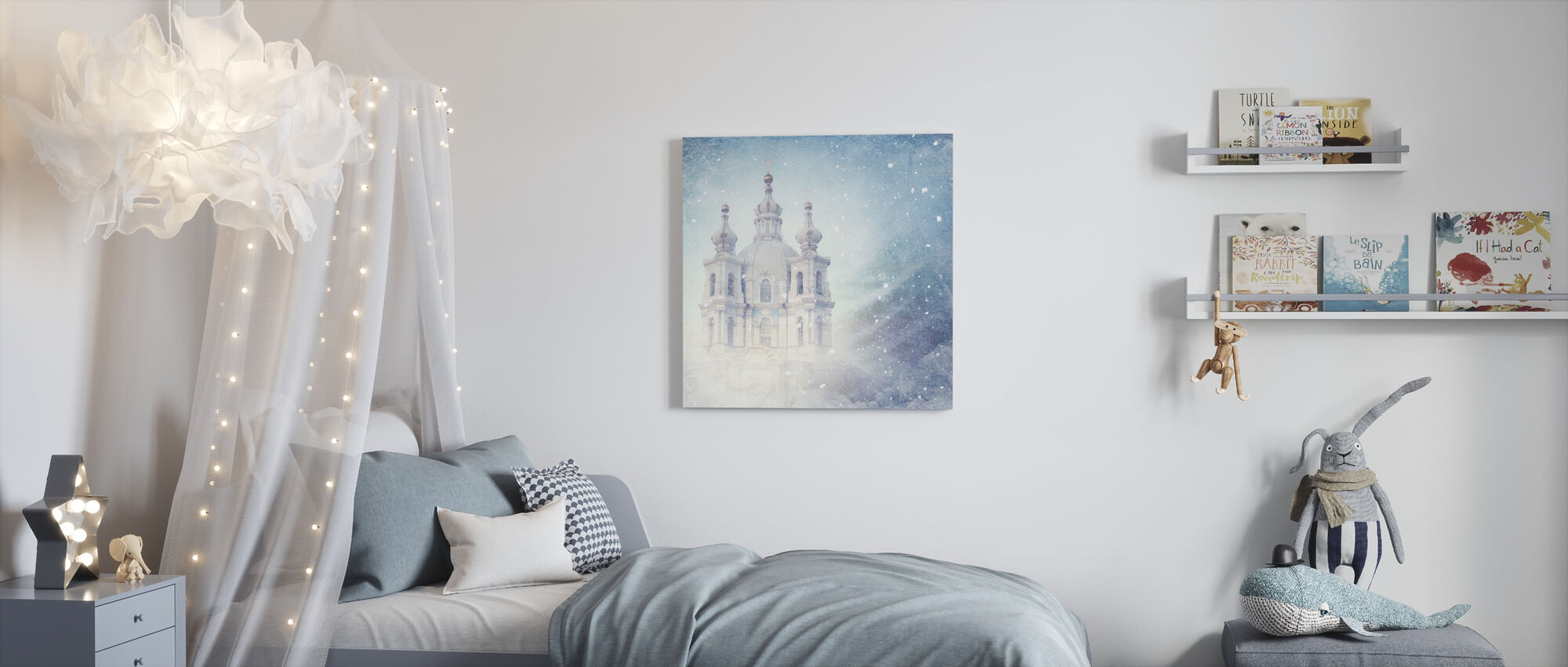 Dream Castle - Canvas print - Kids Room