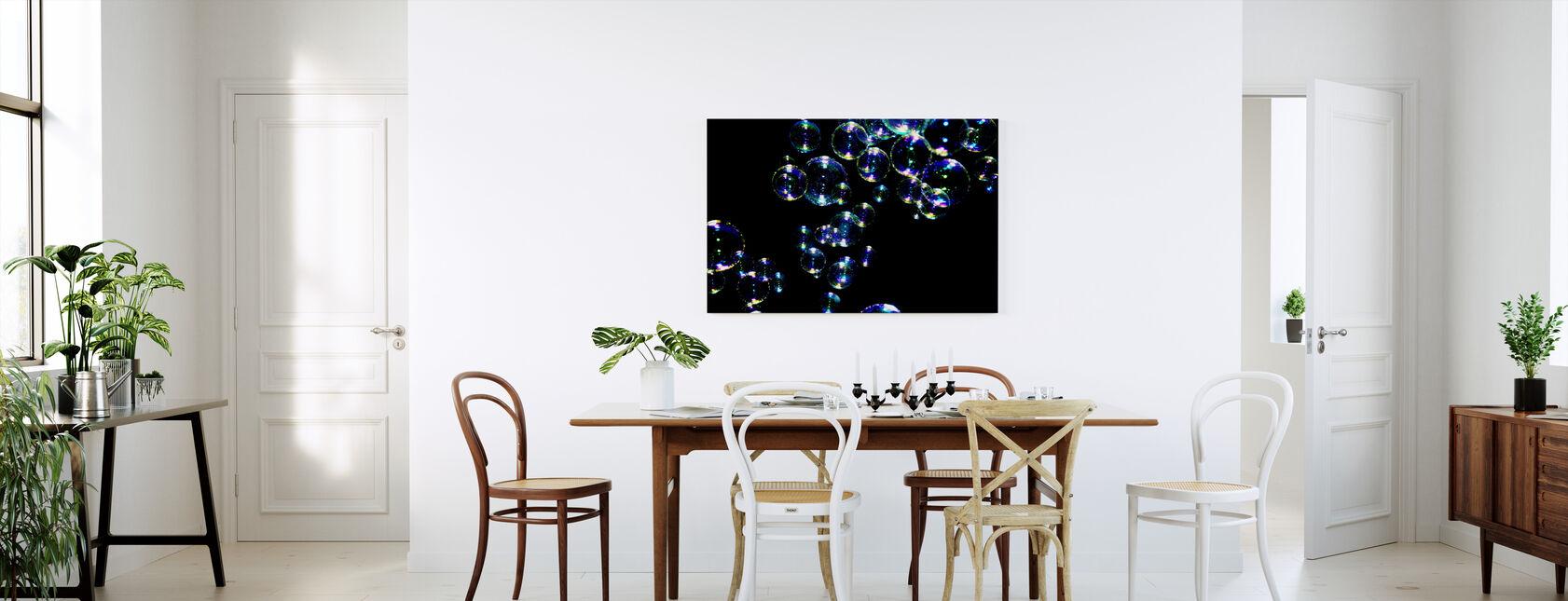 Glistening Bubbles - Canvas print - Kitchen