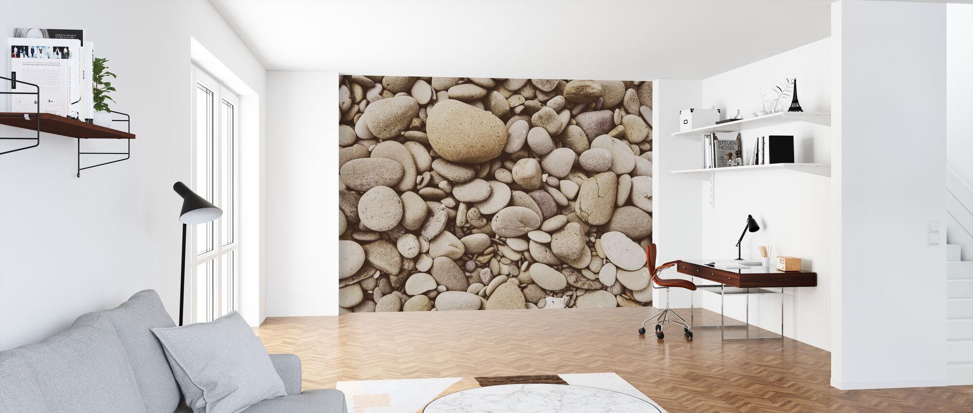 Polished Pebble - Wallpaper - Office