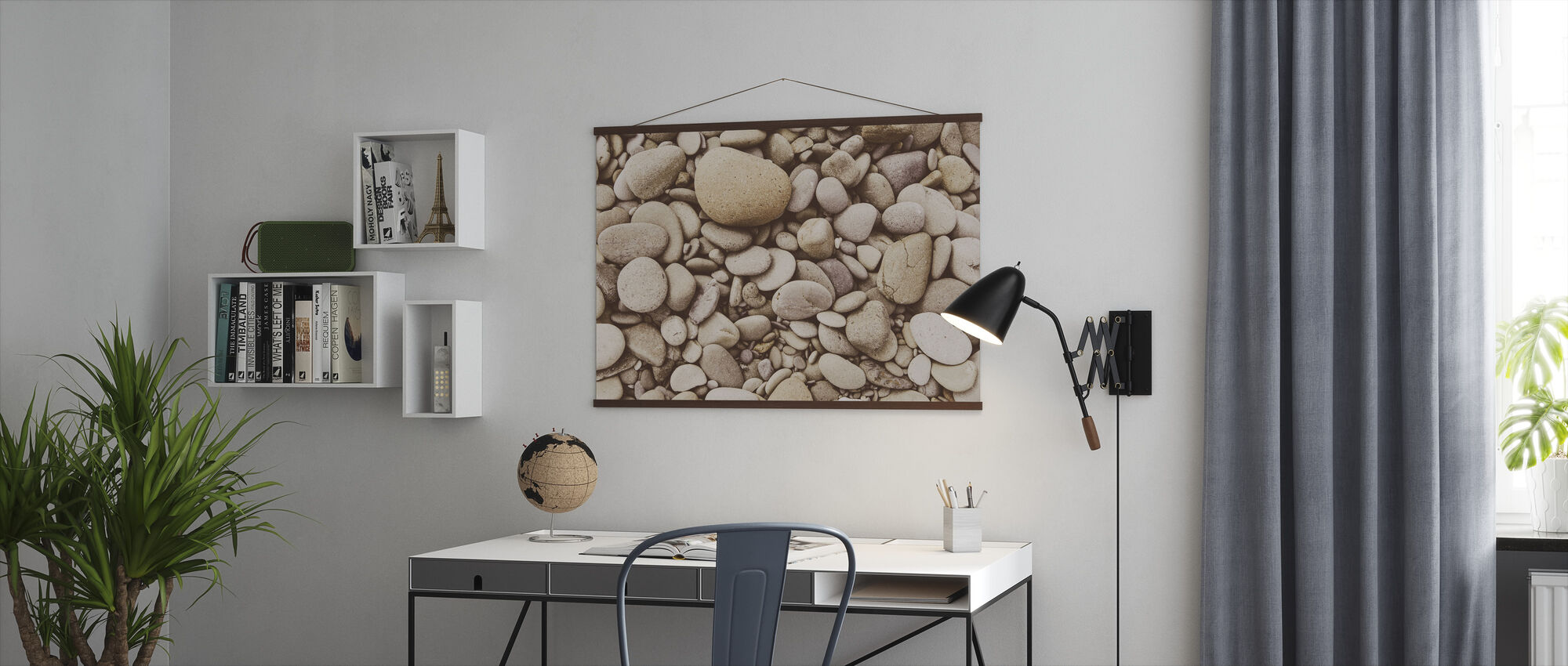 Polished Pebble - Poster - Office