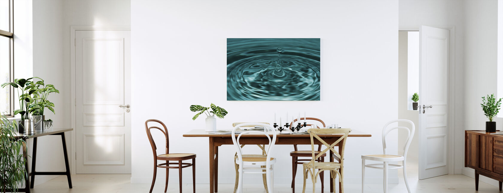 Droplet - Canvas print - Kitchen