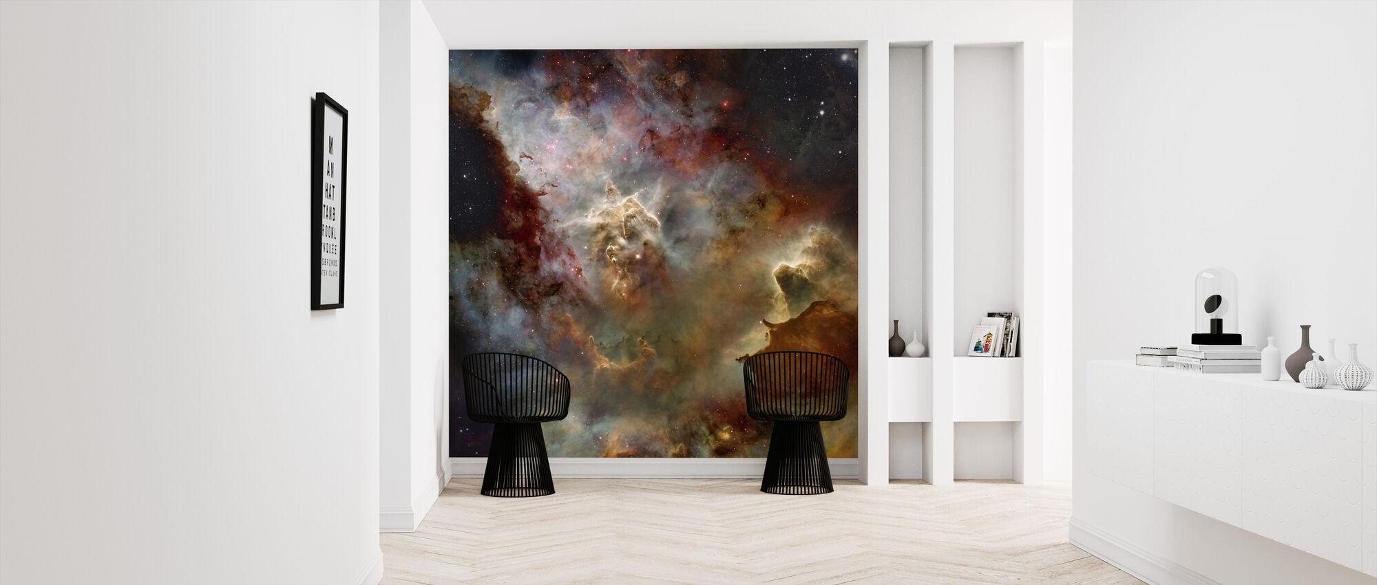 Deep Space Nebula - Wallpaper - Hallway